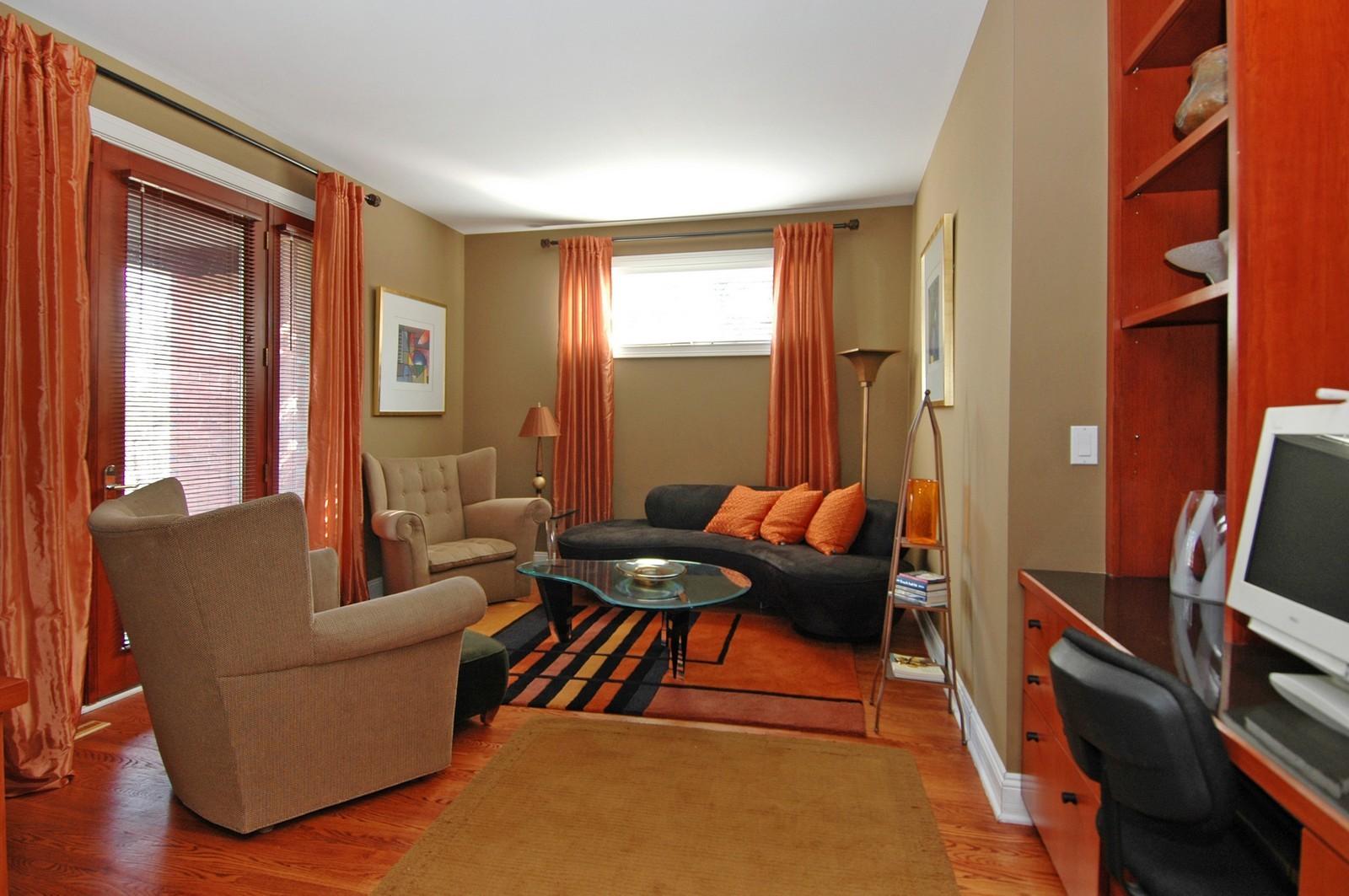 Real Estate Photography - 751 Lake, Crystal Lake, IL, 60014 - Den
