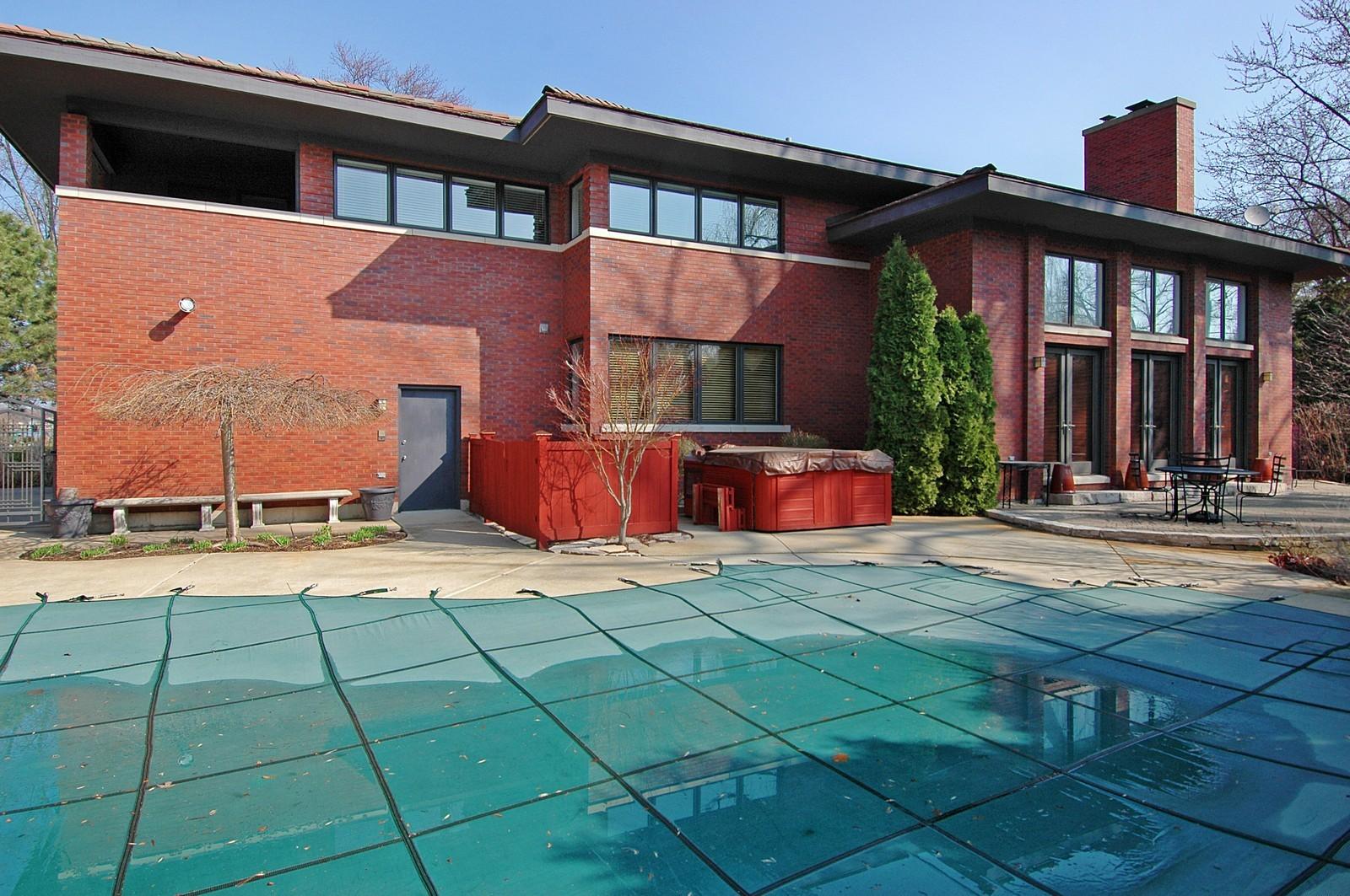 Real Estate Photography - 751 Lake, Crystal Lake, IL, 60014 - Rear View