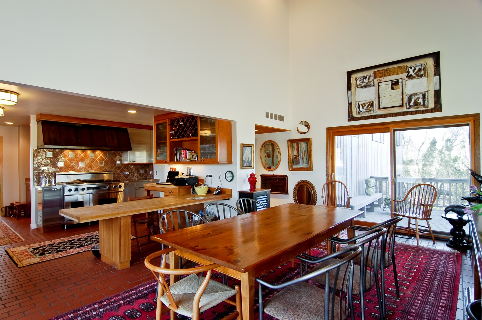 Real Estate Photography - 1S621 Bender, West Chicago, IL, 60185 - Dining Room