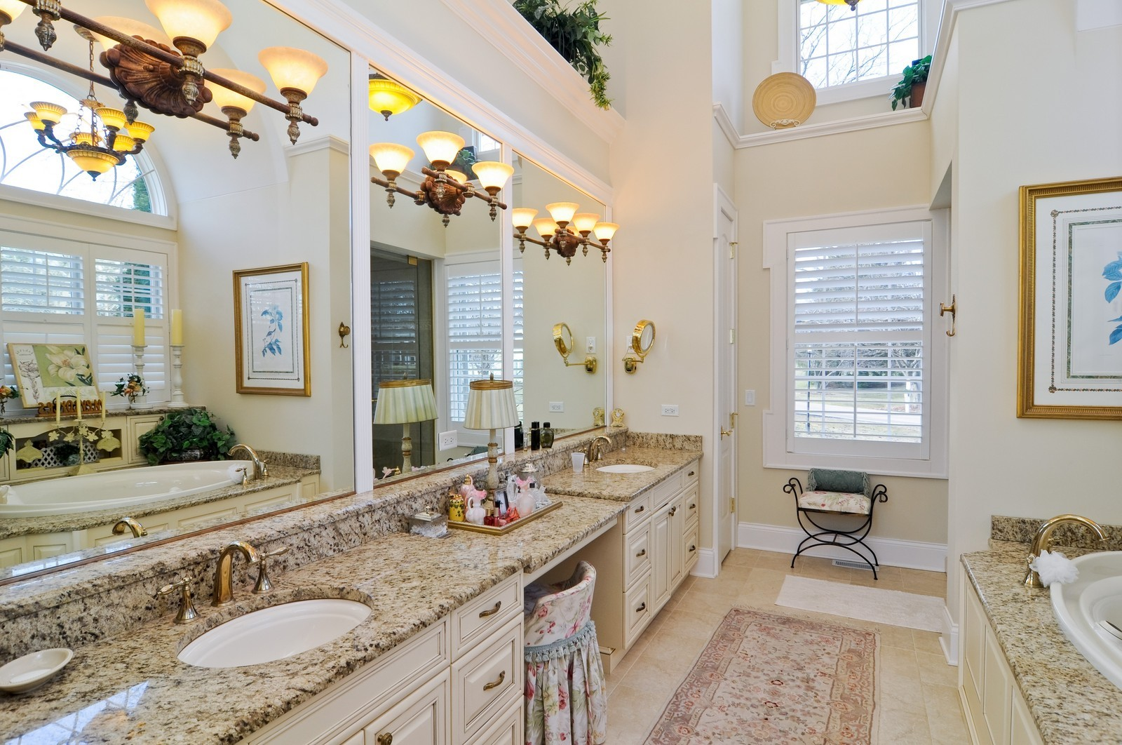 Real Estate Photography - 1885 Durham Drive, Inverness, IL, 60067 - Master Bathroom