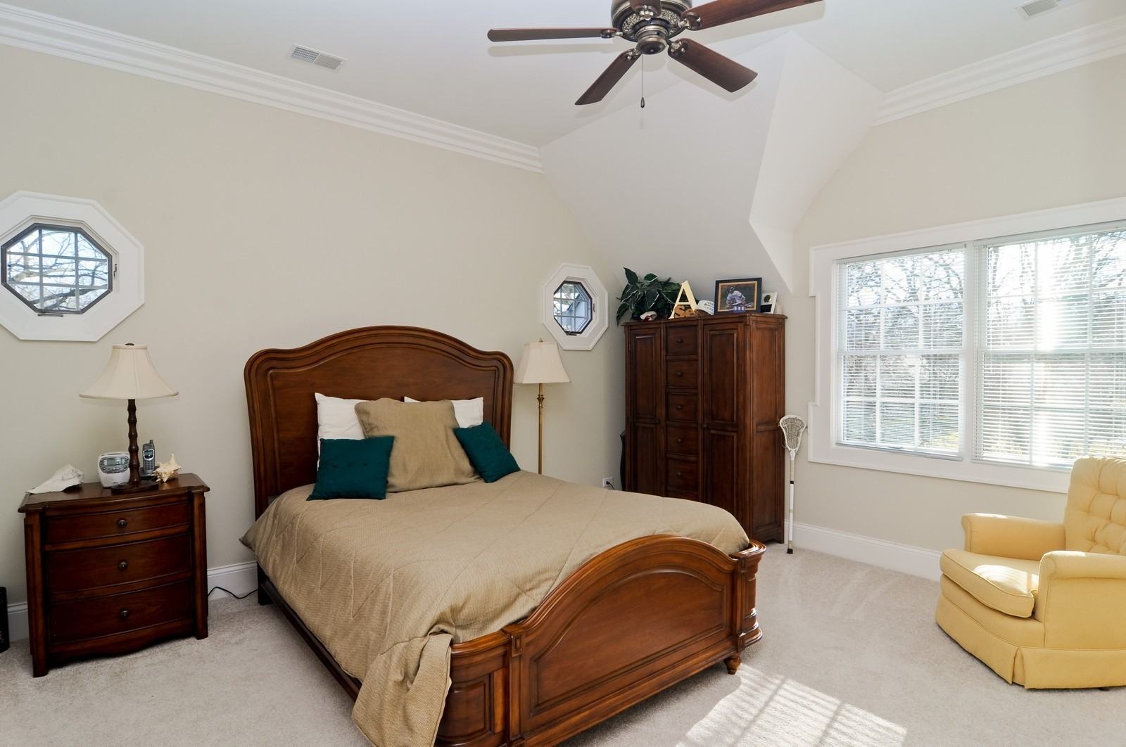 Real Estate Photography - 1885 Durham Drive, Inverness, IL, 60067 - 3rd Bedroom