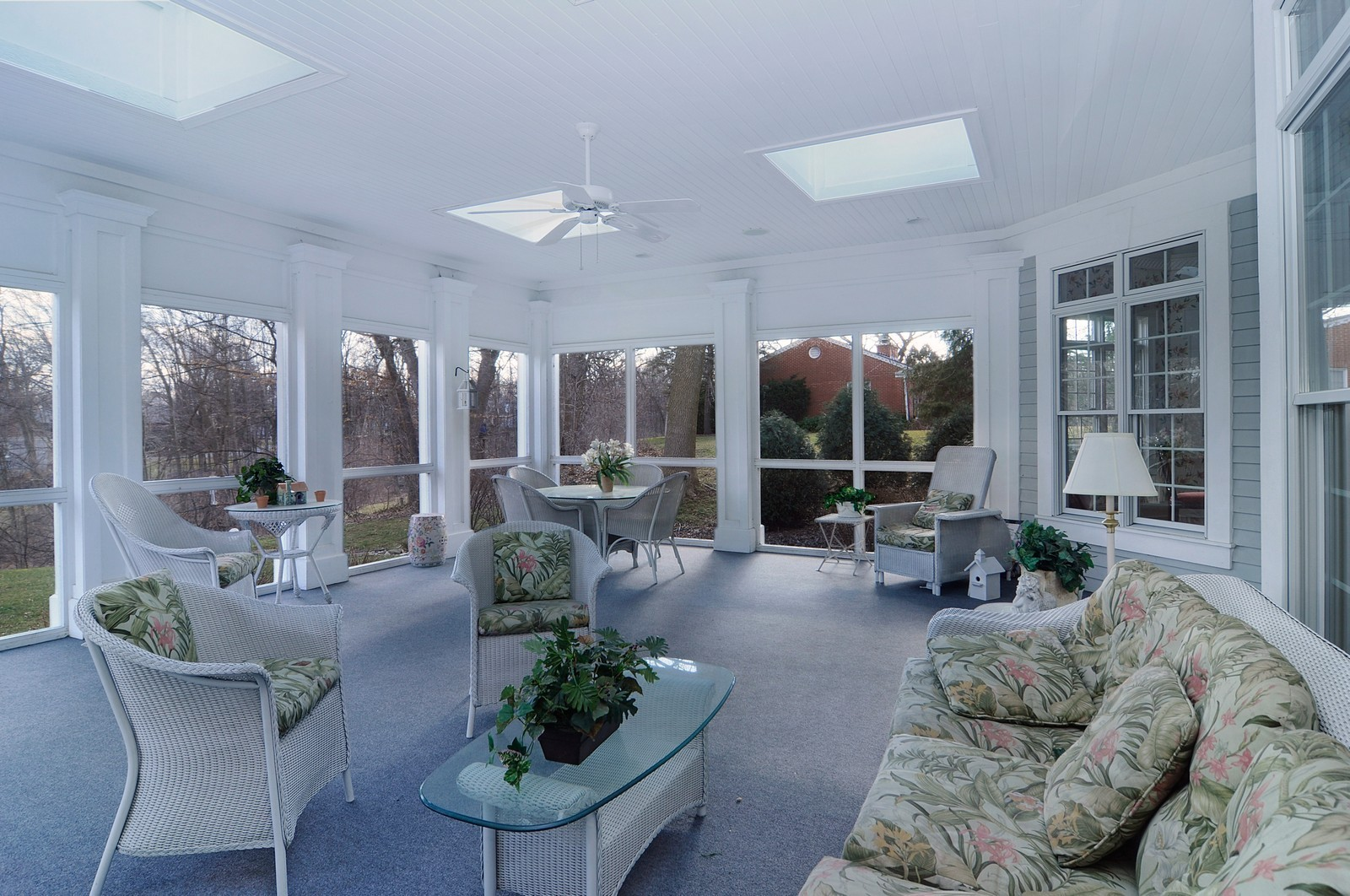 Real Estate Photography - 1885 Durham Drive, Inverness, IL, 60067 - Sun Room