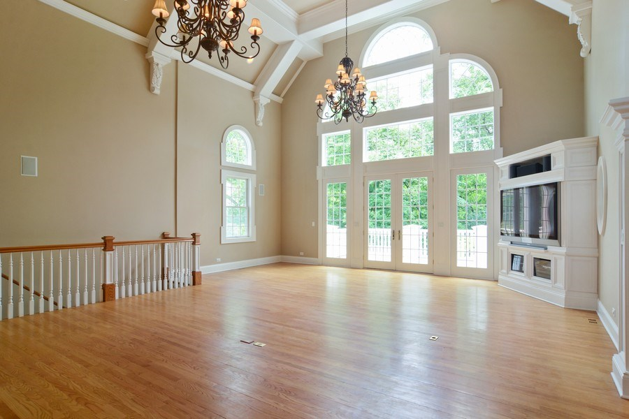 Real Estate Photography - 1885 Durham Drive, Inverness, IL, 60067 - Great Room