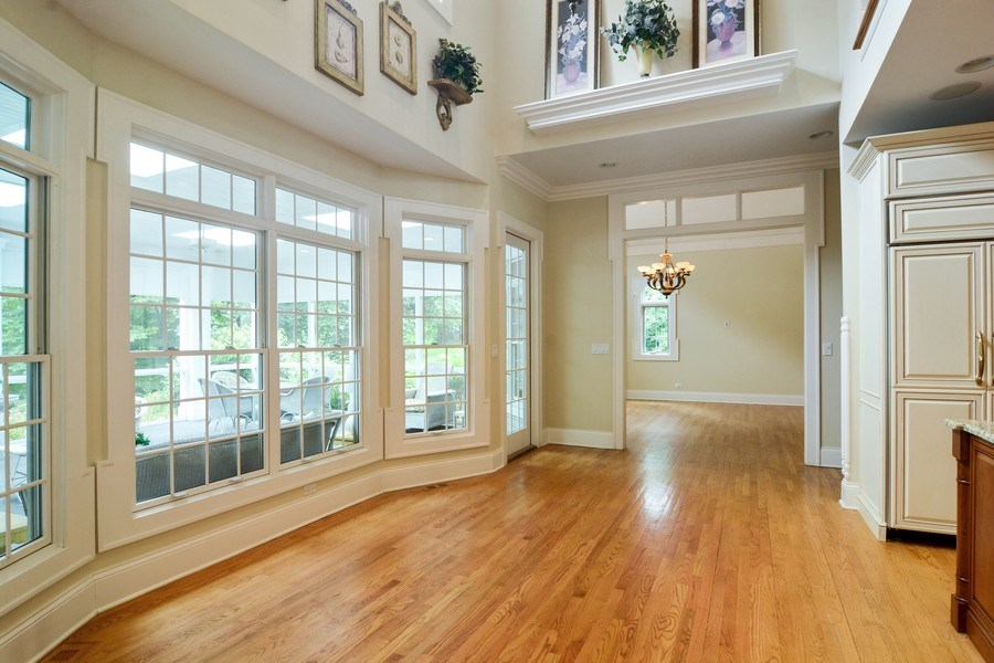 Real Estate Photography - 1885 Durham Drive, Inverness, IL, 60067 - Breakfast Nook