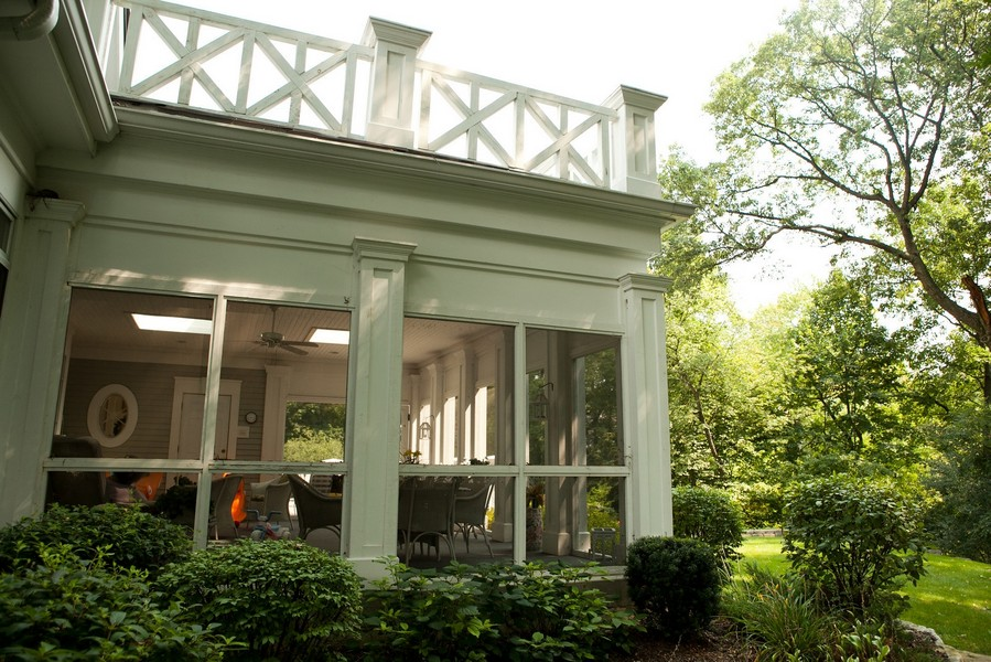 Real Estate Photography - 1885 Durham Drive, Inverness, IL, 60067 - Screen Porch