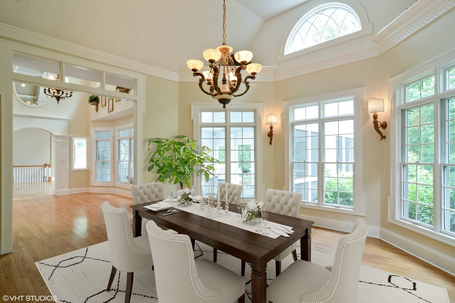 Real Estate Photography - 1885 Durham Drive, Inverness, IL, 60067 - Dining Room