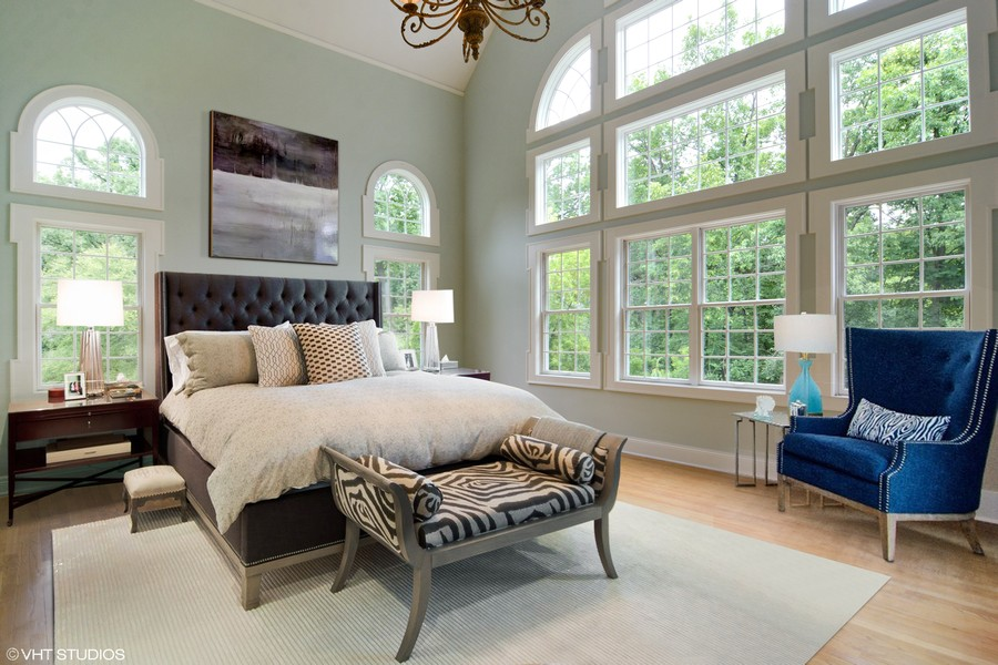 Real Estate Photography - 1885 Durham Drive, Inverness, IL, 60067 - Master Bedroom