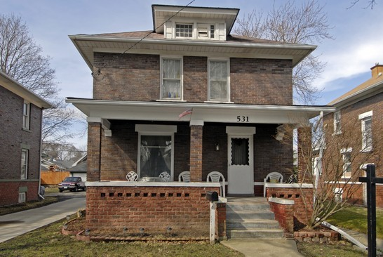 Front View photograph of 531 Watson Aurora Illinois 60505