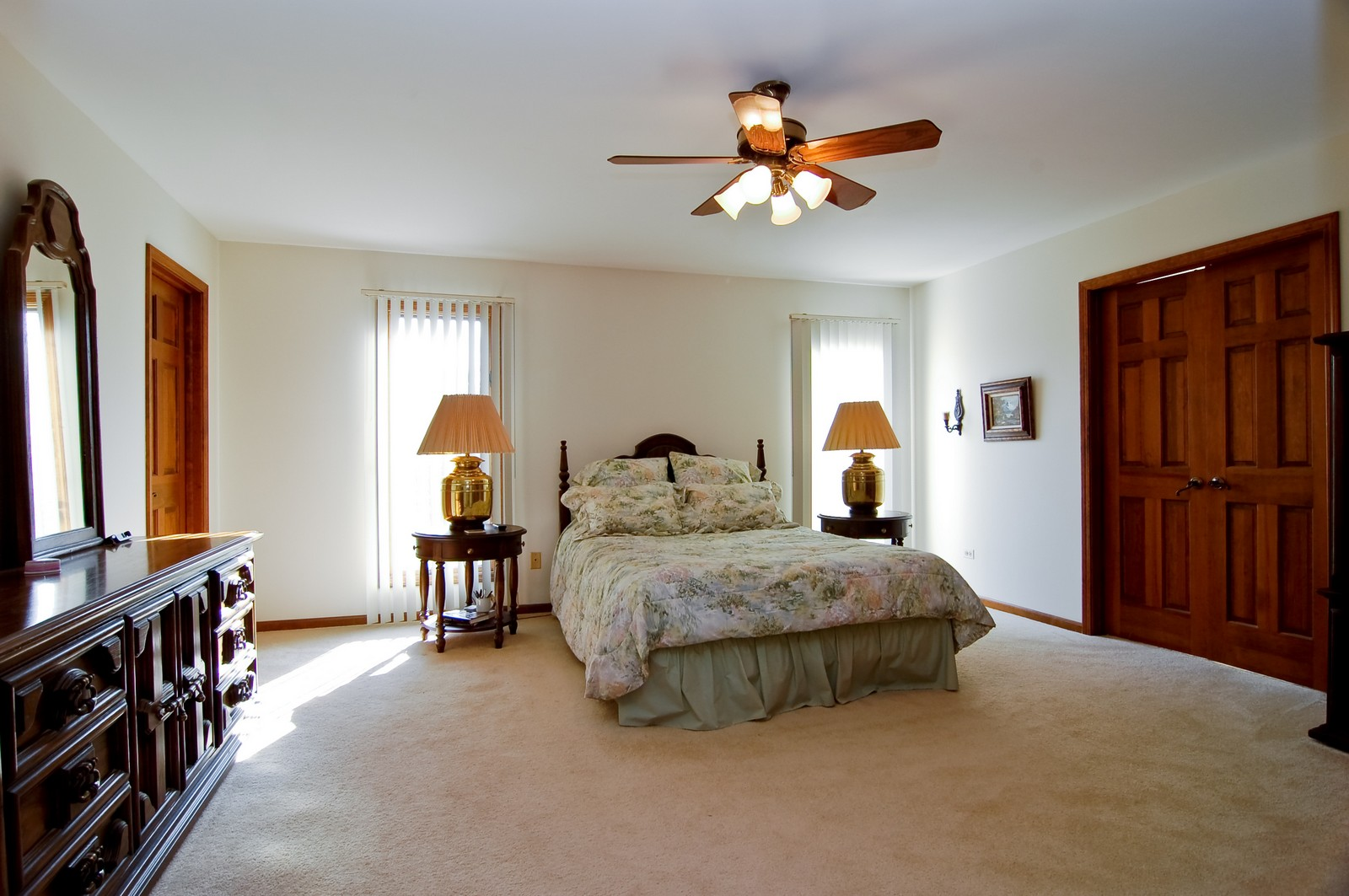 Real Estate Photography - 4302 Fox Creek, Crystal Lake, IL, 60012 - Master Bedroom