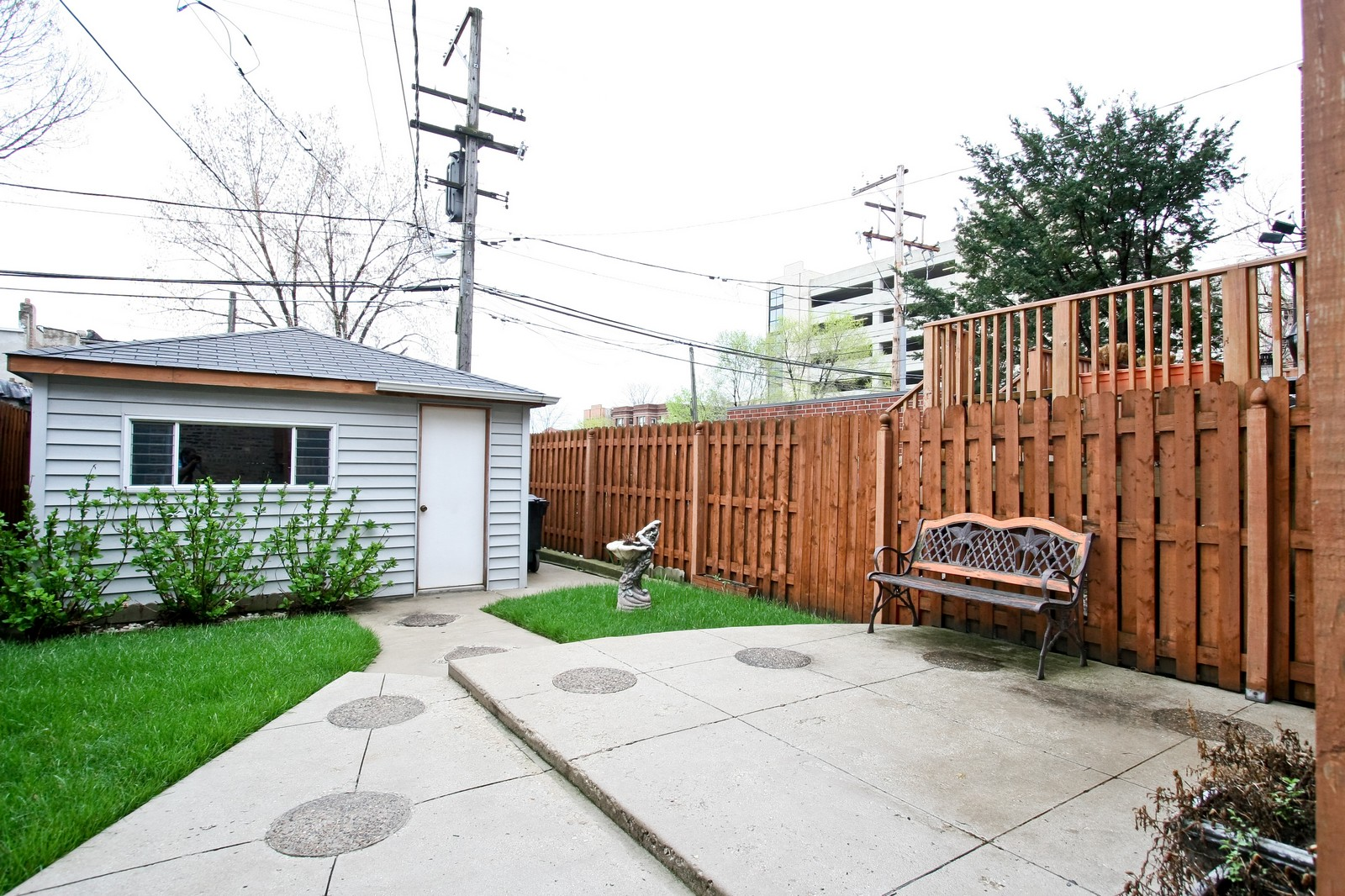Real Estate Photography - 4949 Vincennes Ave, Chicago, IL, 60615 - Back Yard