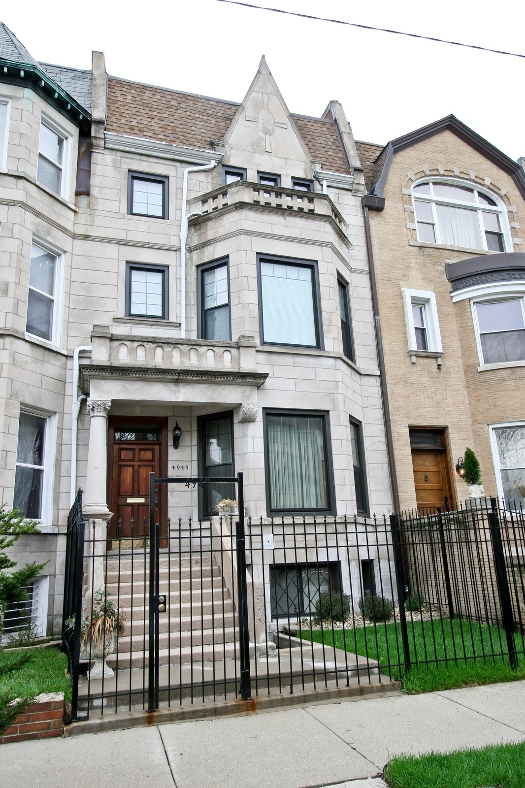Real Estate Photography - 4949 Vincennes Ave, Chicago, IL, 60615 - Front View