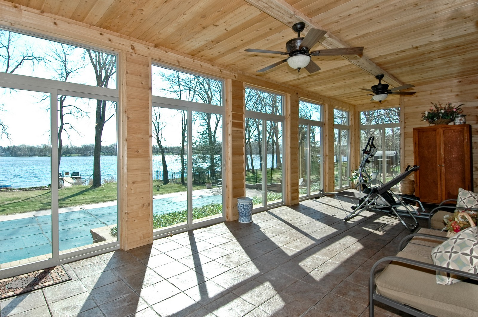 Real Estate Photography - 6106 S Kilkenny, Crystal Lake, IL, 60014 - Sun, Exercise Room