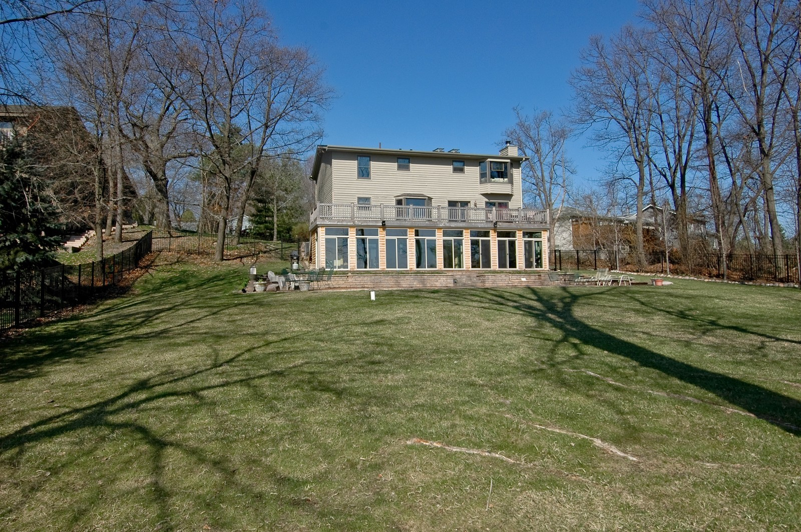 Real Estate Photography - 6106 S Kilkenny, Crystal Lake, IL, 60014 - Rear View