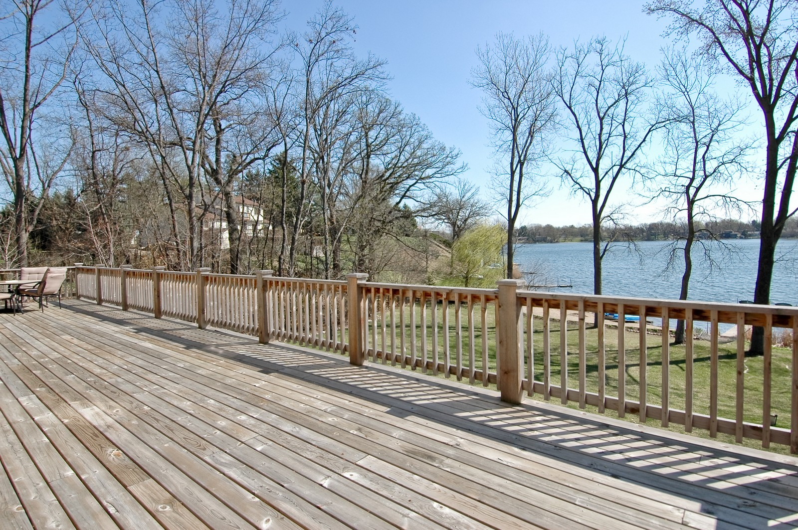 Real Estate Photography - 6106 S Kilkenny, Crystal Lake, IL, 60014 - Deck