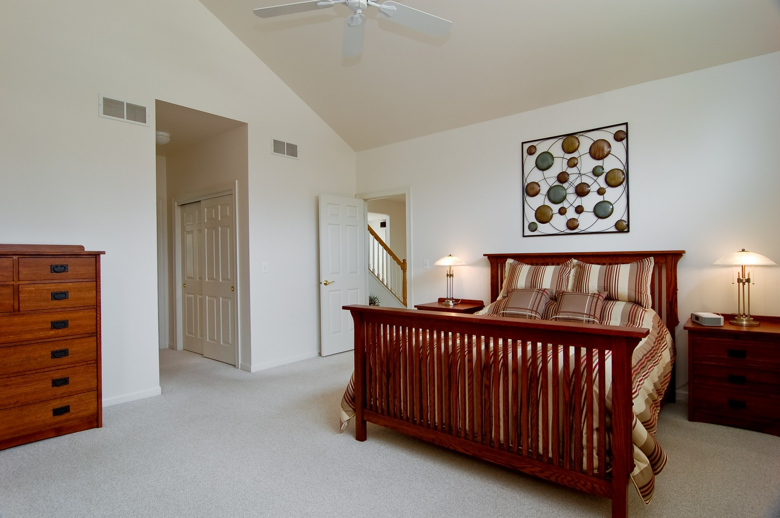 Real Estate Photography - 745 Ceresia, Crystal Lake, IL, 60014 - Master Bedroom