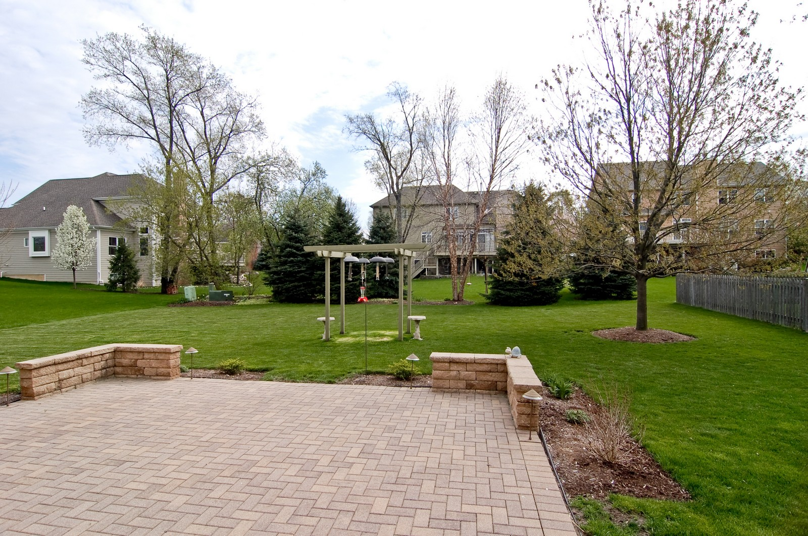 Real Estate Photography - 745 Ceresia, Crystal Lake, IL, 60014 - Back Yard