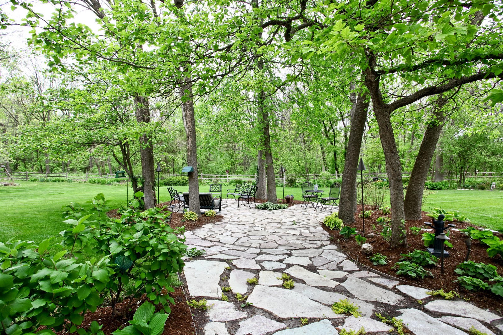 Real Estate Photography - 74 Highgate Ct, St. Charles, IL, 60174 - Back Yard