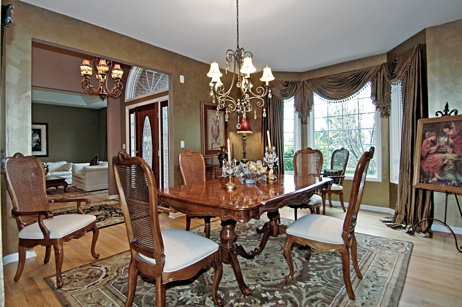 Real Estate Photography - 18N066 Carriage Way, Huntley, IL, 60142 - Dining Room