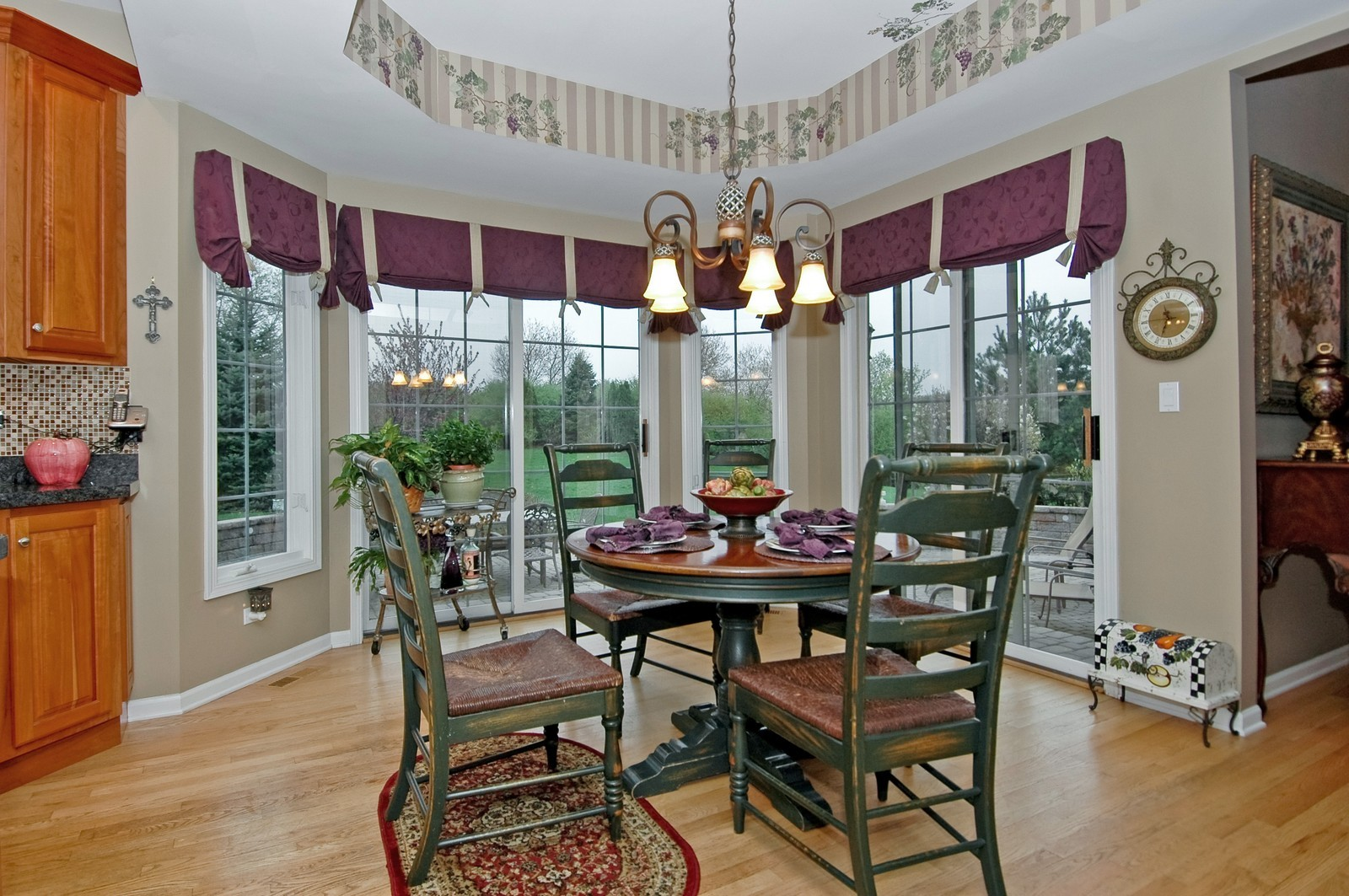 Real Estate Photography - 18N066 Carriage Way, Huntley, IL, 60142 - Dining Area