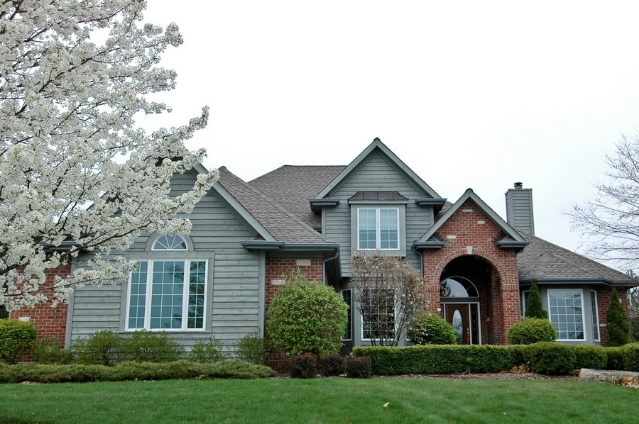 Real Estate Photography - 18N066 Carriage Way, Huntley, IL, 60142 - Front View
