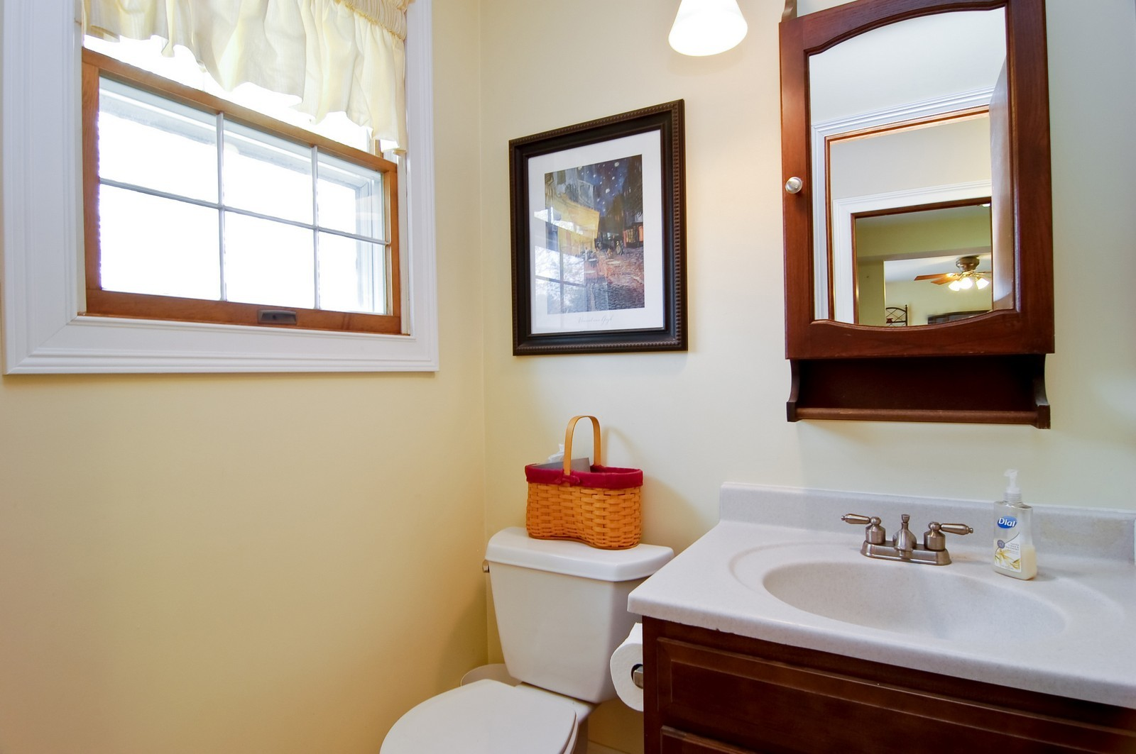 Real Estate Photography - 7N041 Silver Glen, St Charles, IL, 60175 - Powder Room