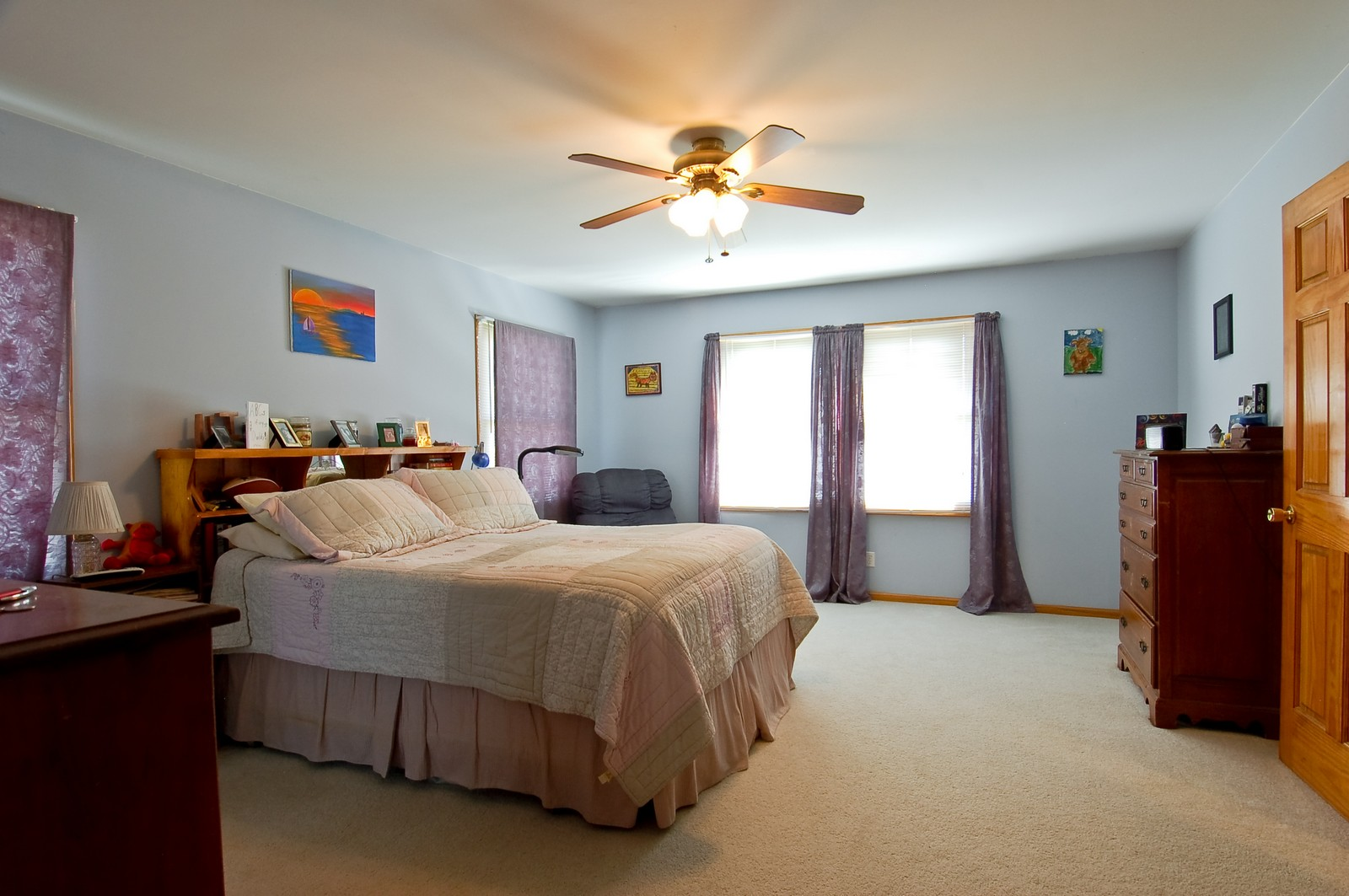 Real Estate Photography - 322 W Elian Ct, Maple Park, IL, 60151 - Master Bedroom