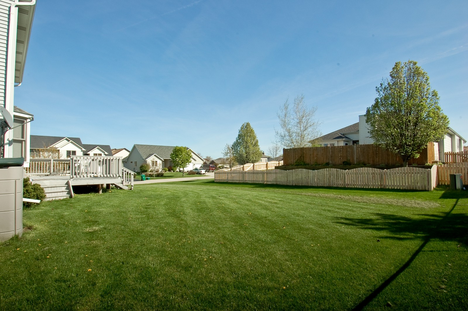Real Estate Photography - 322 W Elian Ct, Maple Park, IL, 60151 - Back Yard