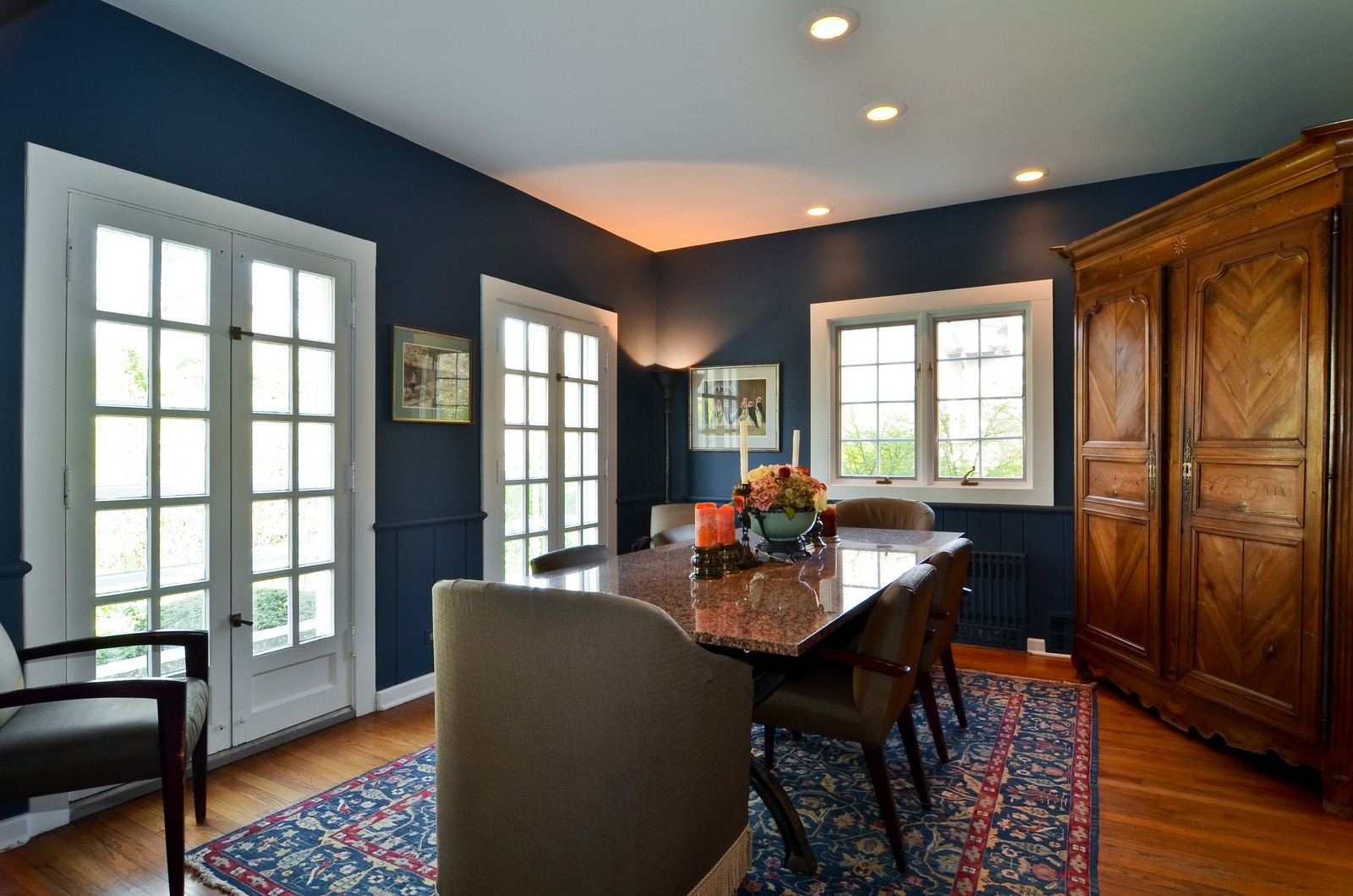 Real Estate Photography - 110 Crescent, Glencoe, IL, 60022 - Dining Room