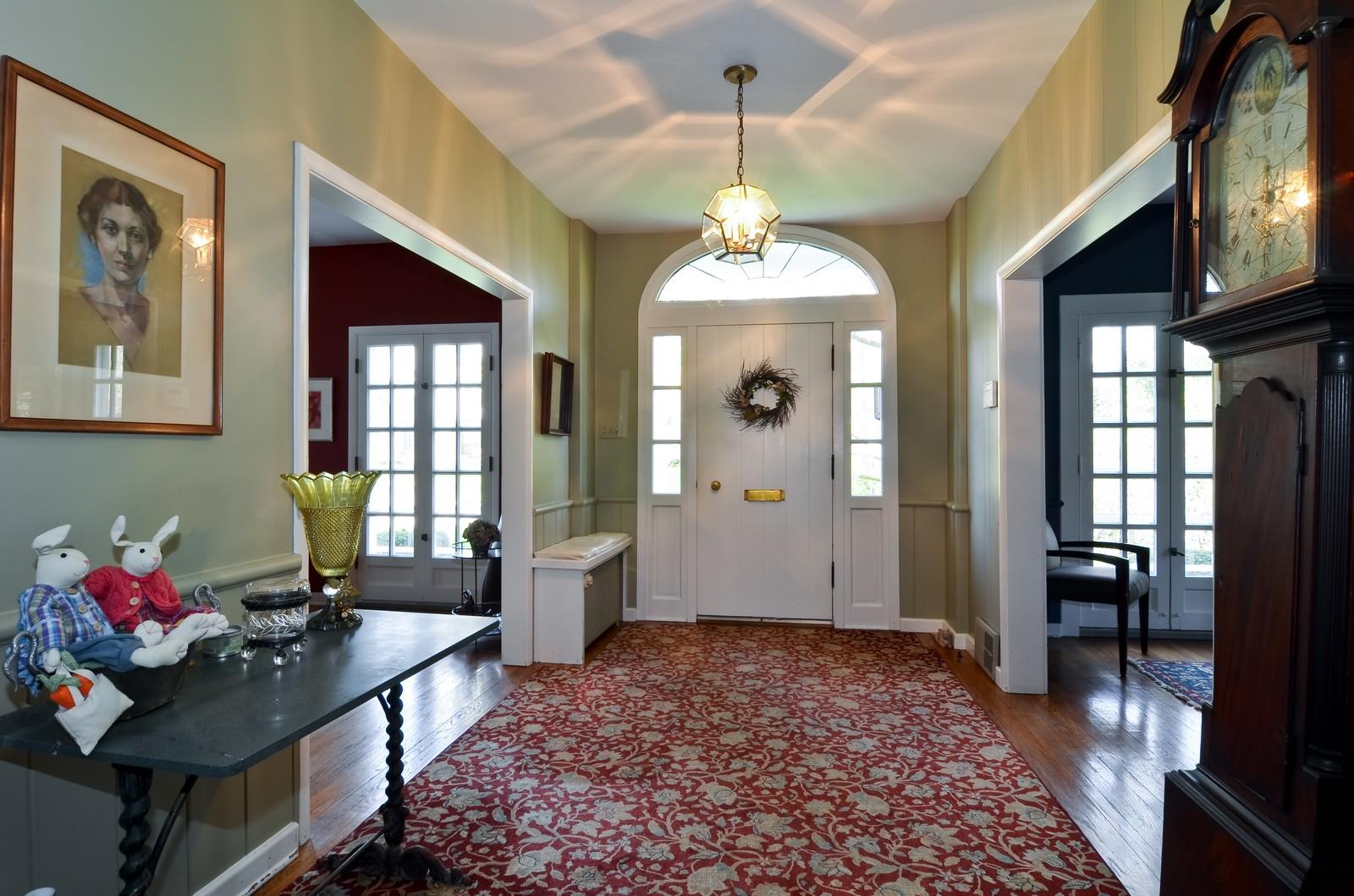 Real Estate Photography - 110 Crescent, Glencoe, IL, 60022 - Foyer