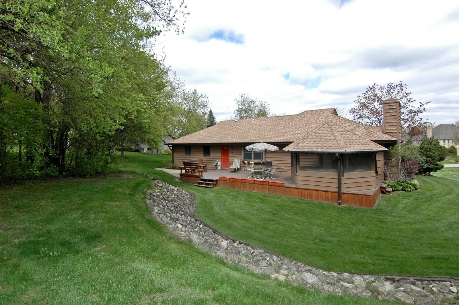 Real Estate Photography - 4409 Nancy, Crystal Lake, IL, 60014 - Rear View