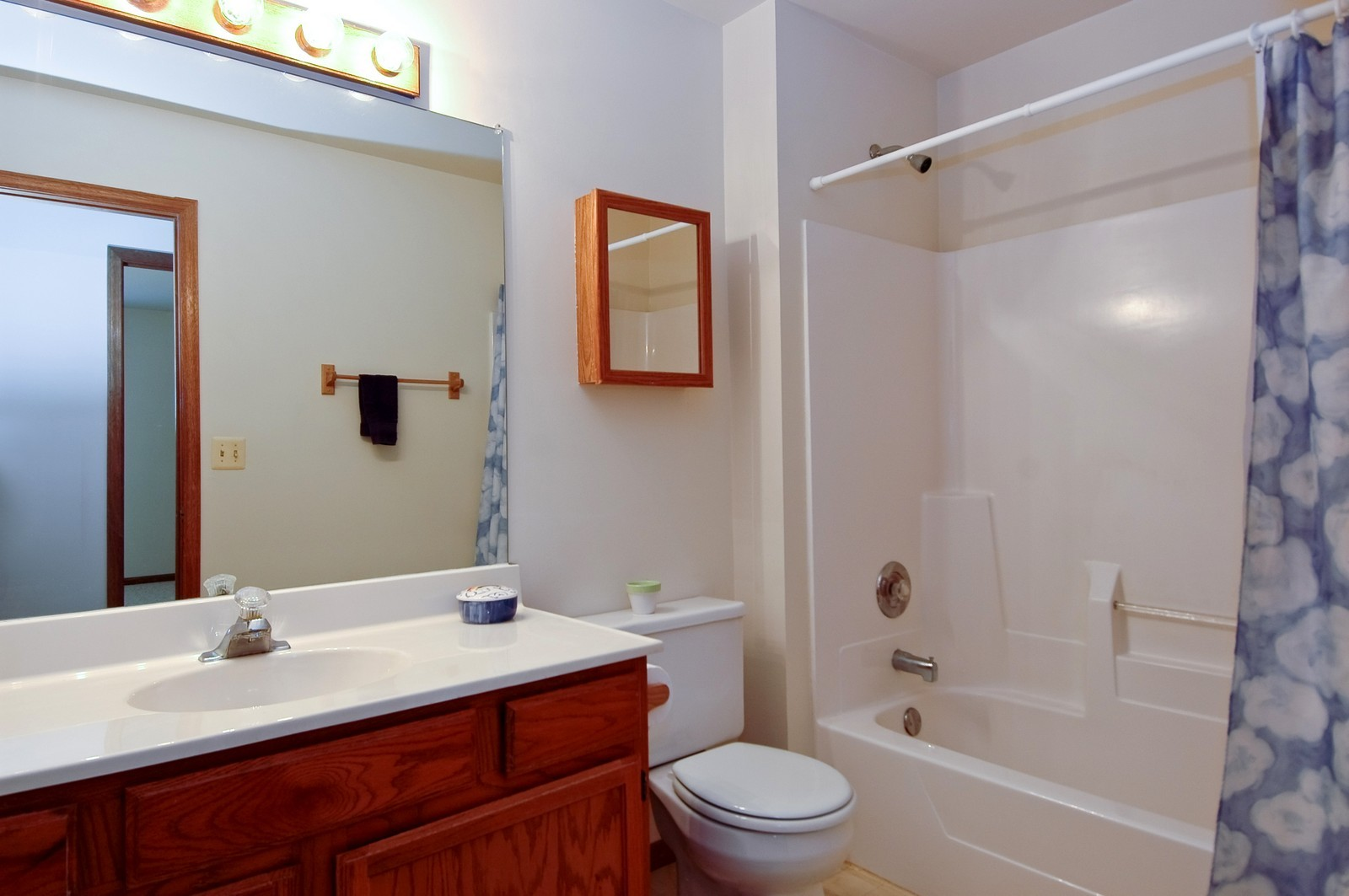 Real Estate Photography - 210 Village Creek, Lake in the Hills, IL, 60156 - 2nd Bathroom