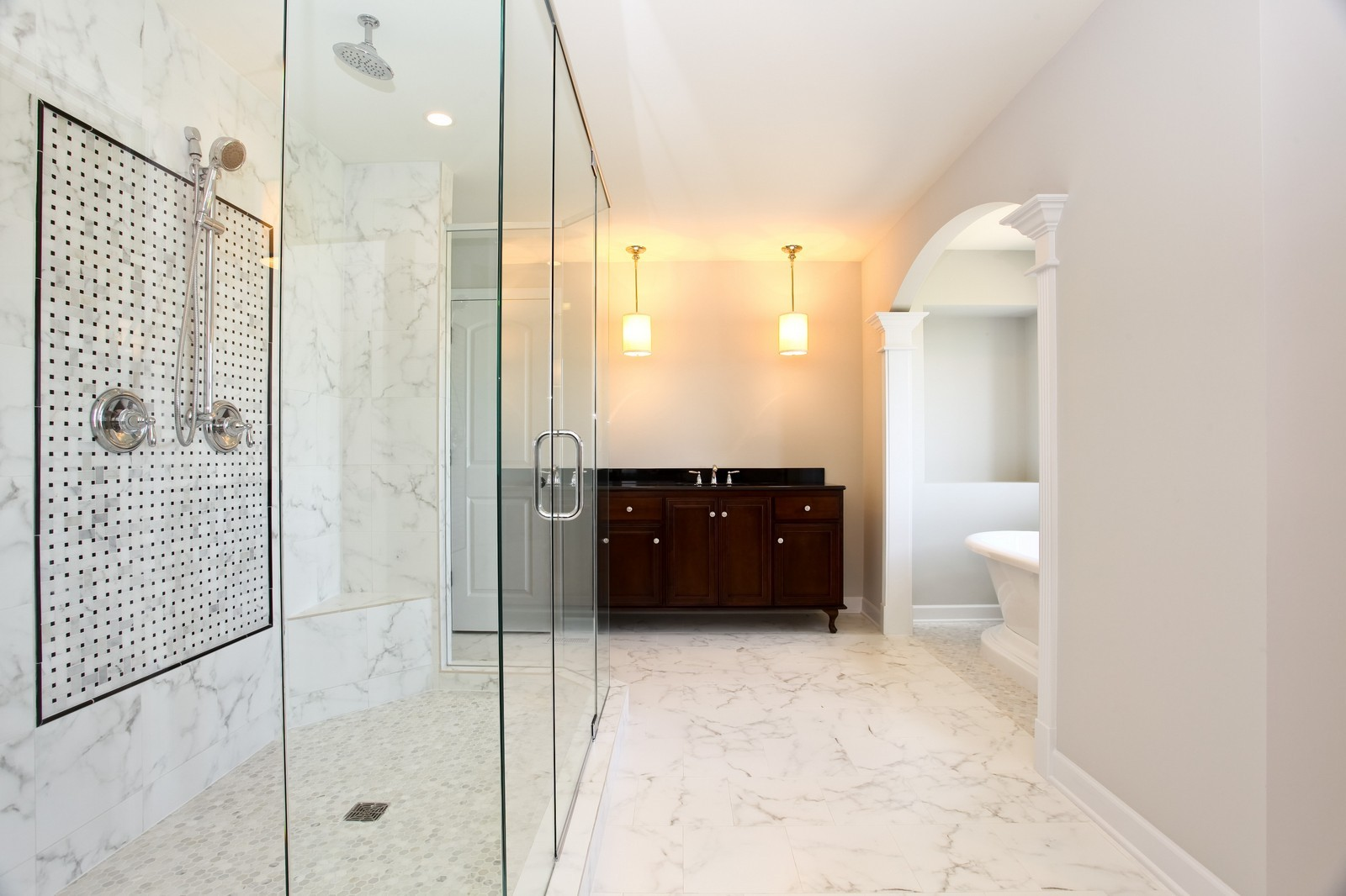 Real Estate Photography - 1964 Saddle Farm, Naperville, IL, 60564 - Master Bathroom