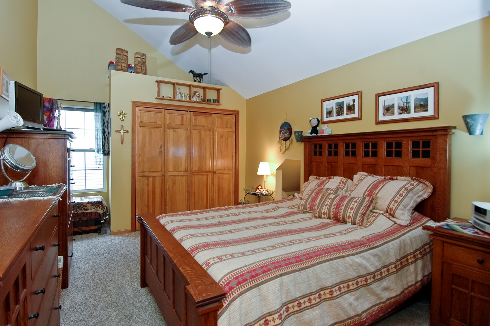Real Estate Photography - 10315 Wilmette, Algonquin, IL, 60102 - Master Bedroom
