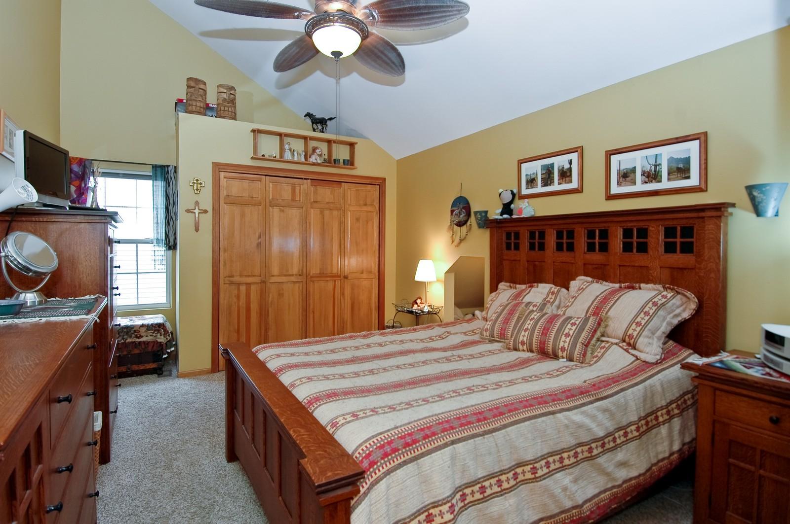 Real Estate Photography - 10315 Wilmette, Algonquin, IL, 60102 - Master Bedroom