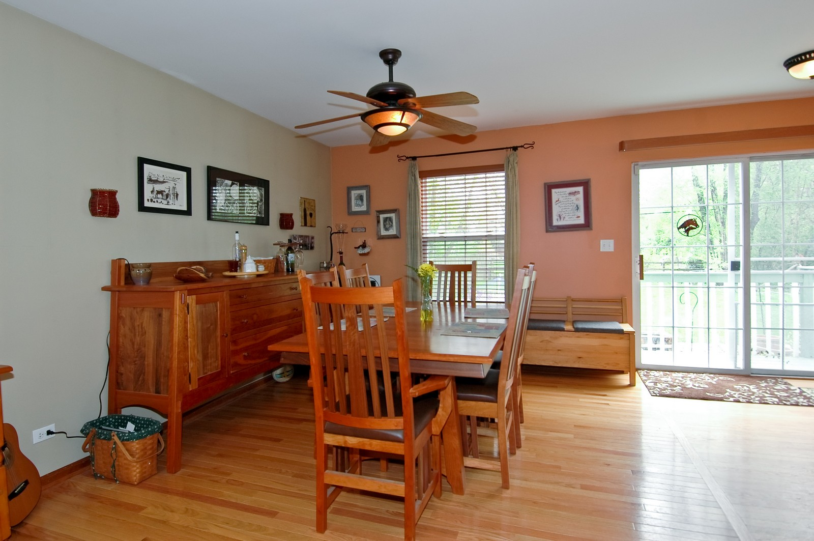 Real Estate Photography - 10315 Wilmette, Algonquin, IL, 60102 - Dining Room