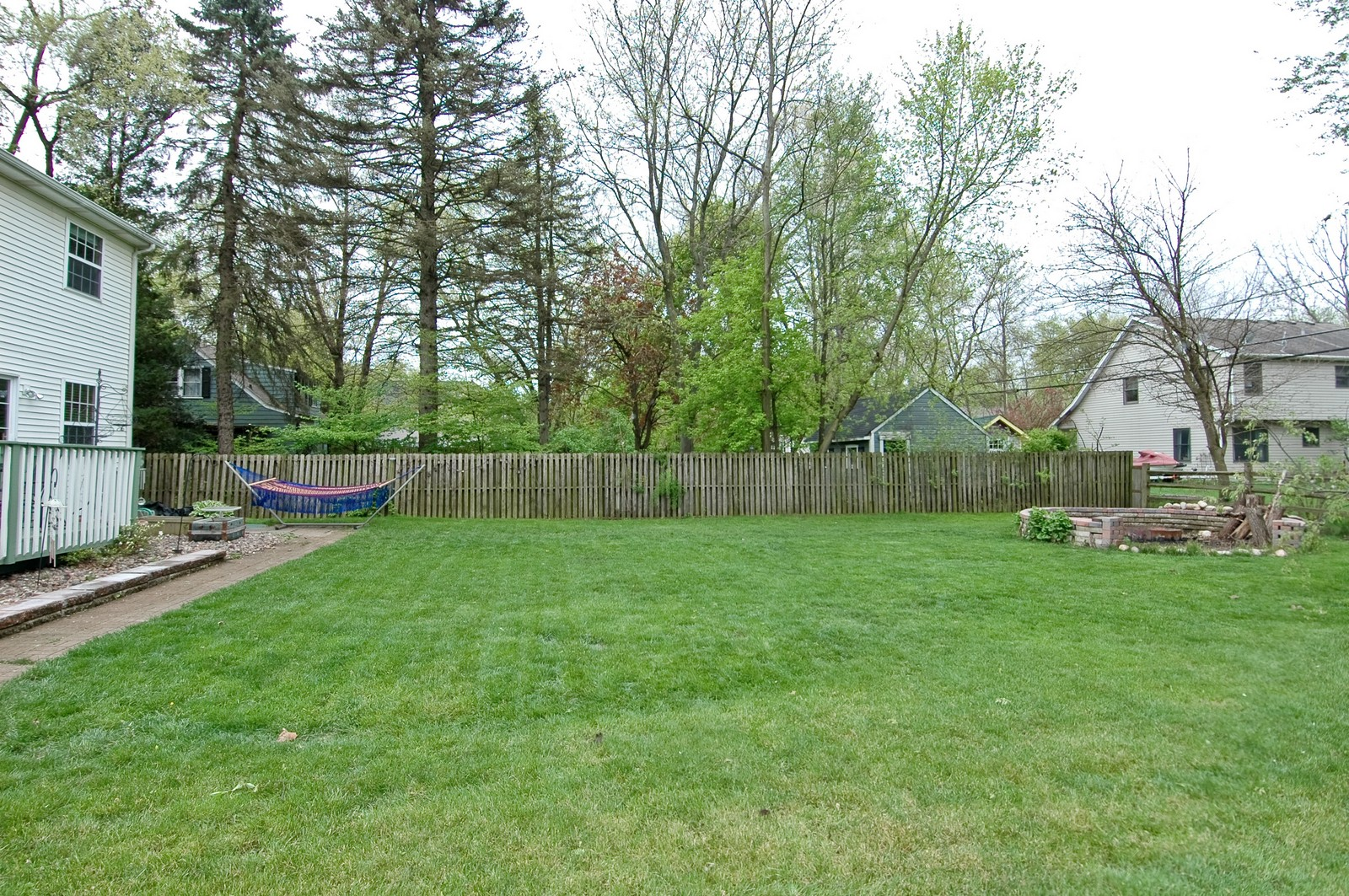 Real Estate Photography - 10315 Wilmette, Algonquin, IL, 60102 - Back Yard