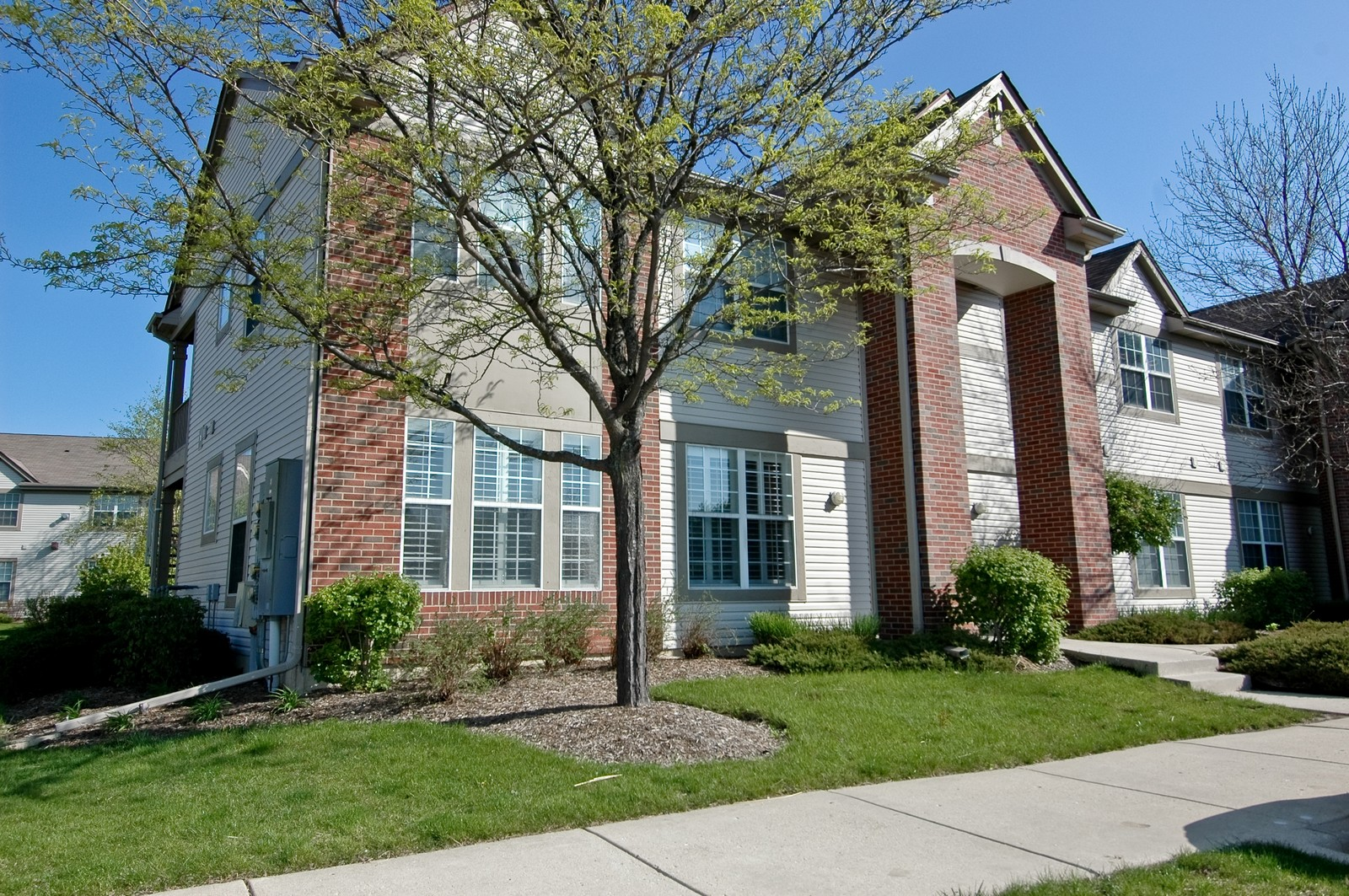 Real Estate Photography - 1681 Carlemont, Unit A, Crystal Lake, IL, 60014 - Front View