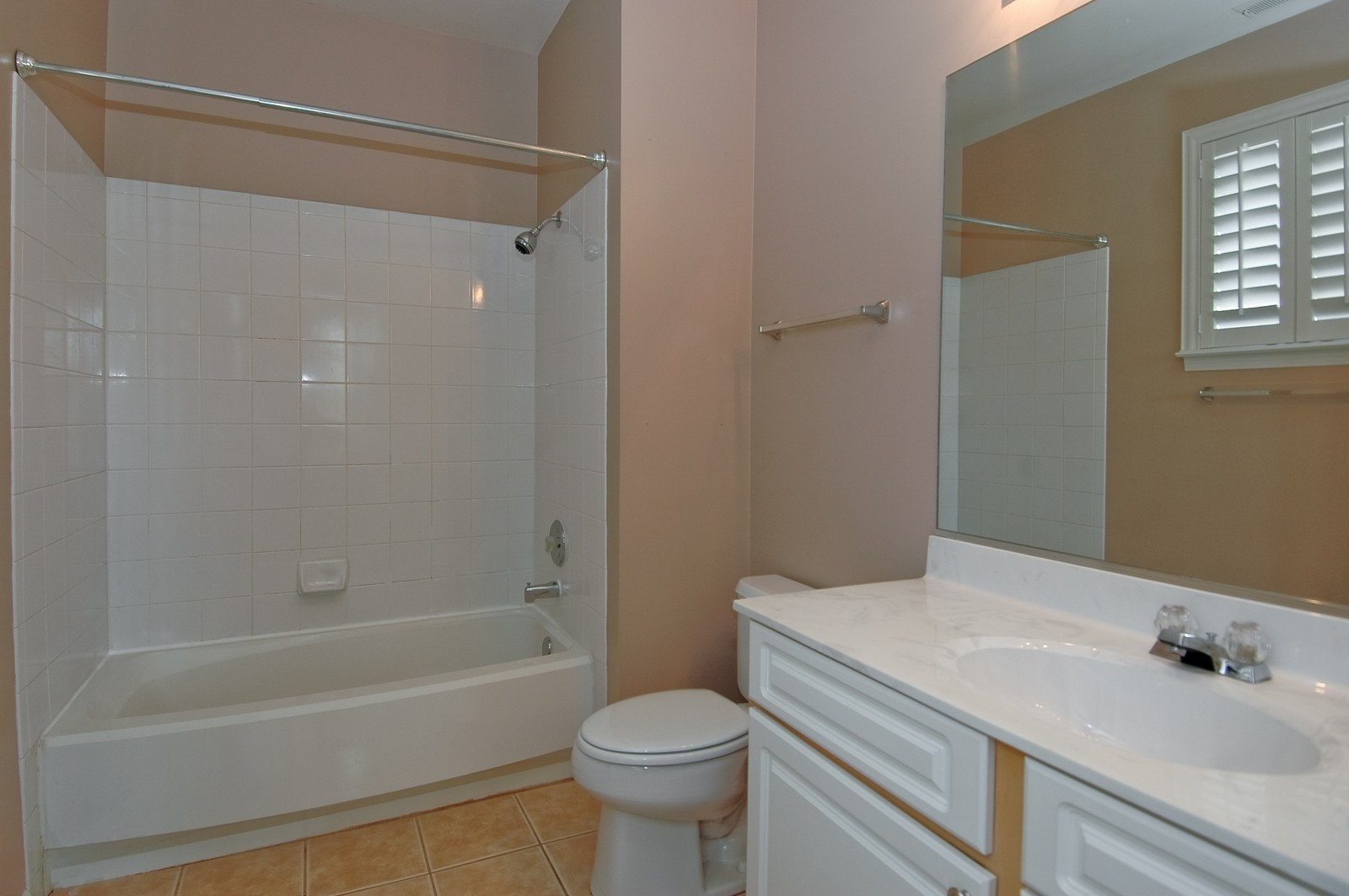 Real Estate Photography - 1681 Carlemont, Unit A, Crystal Lake, IL, 60014 - Bathroom