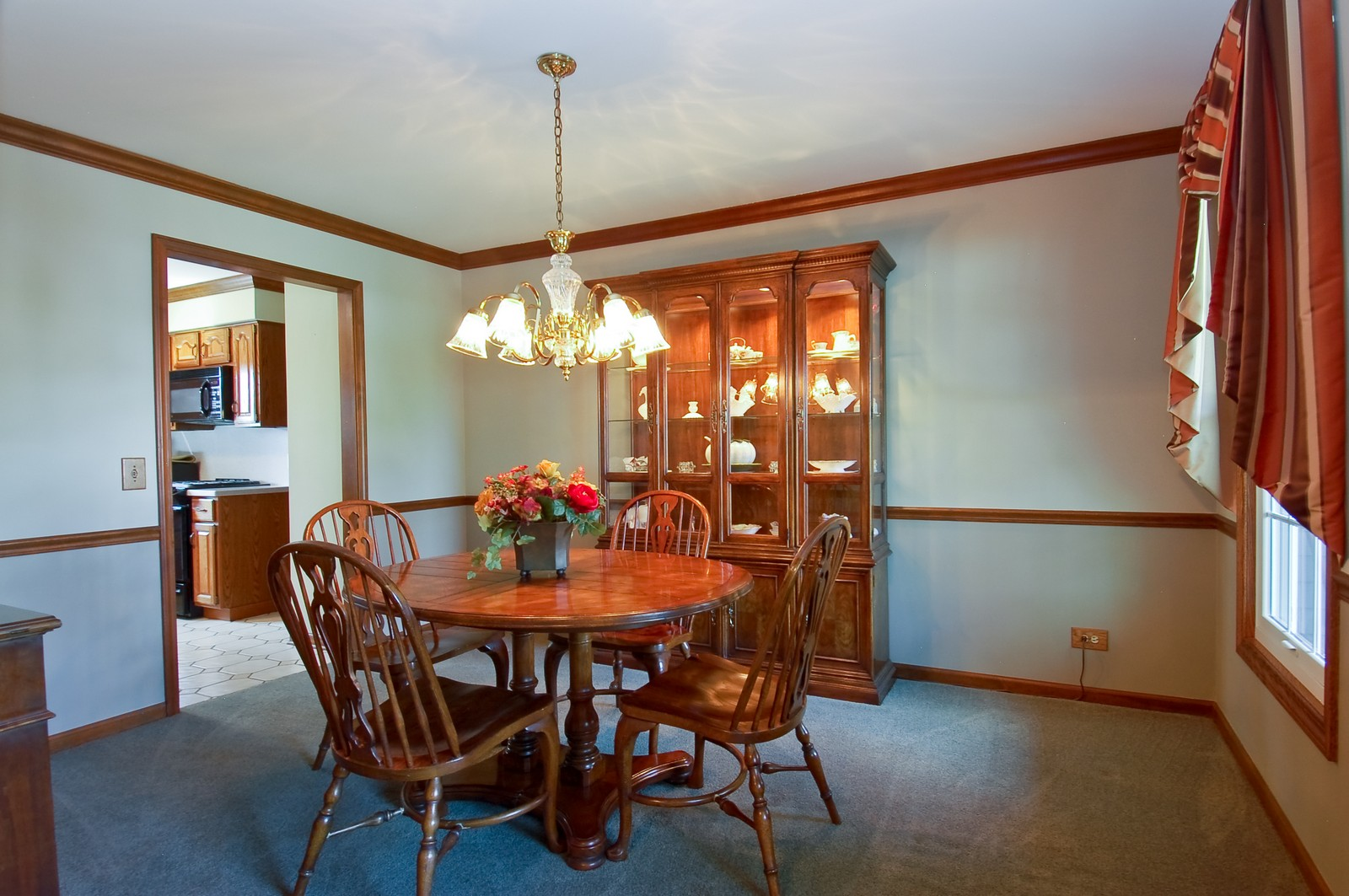 Real Estate Photography - 27W371 Churchill, Winfield, IL, 60190 - Dining Room