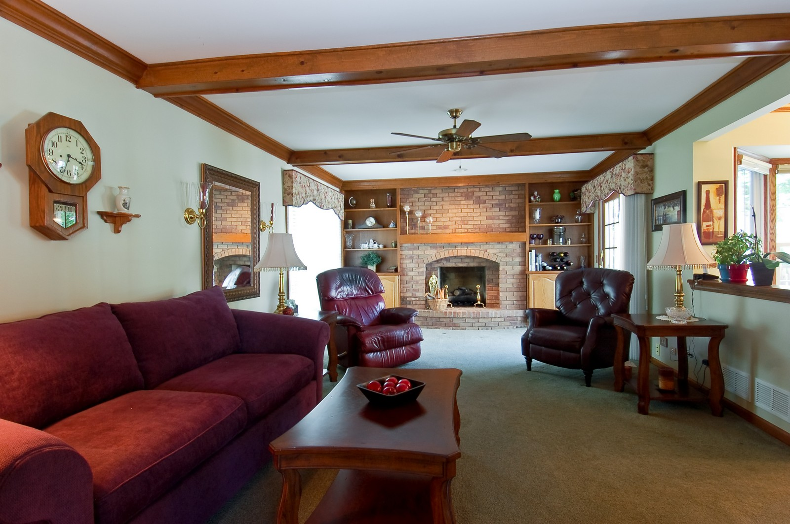 Real Estate Photography - 27W371 Churchill, Winfield, IL, 60190 - Family Room