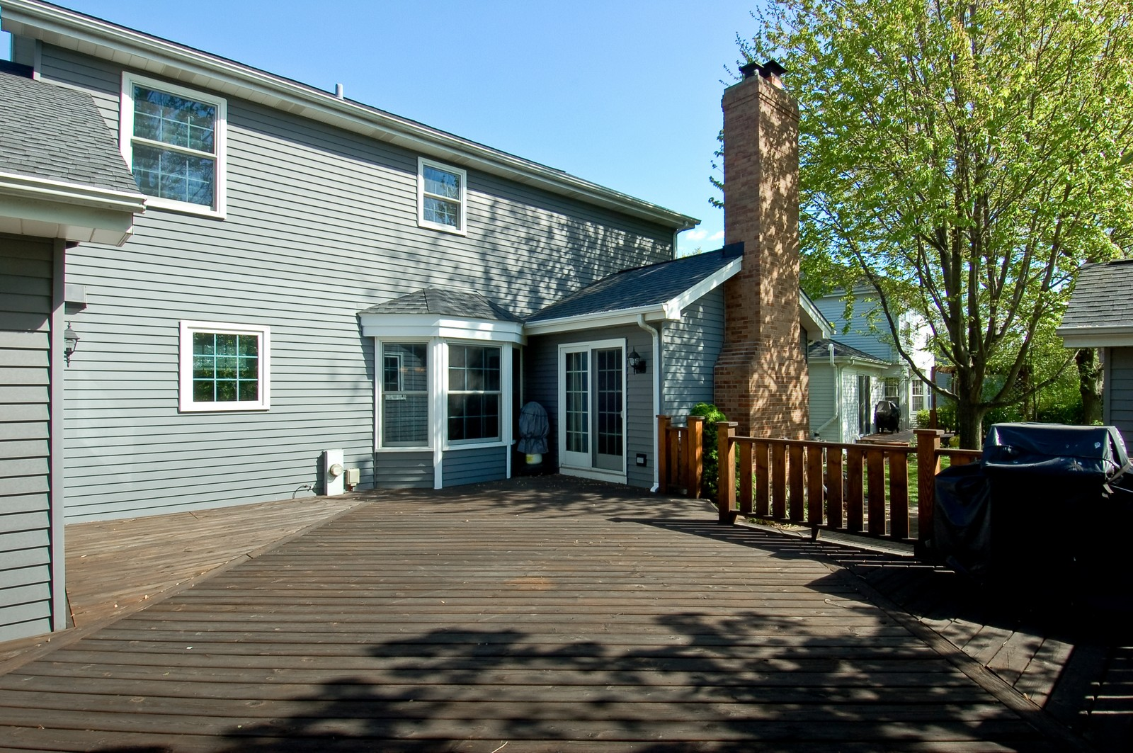 Real Estate Photography - 27W371 Churchill, Winfield, IL, 60190 - Deck