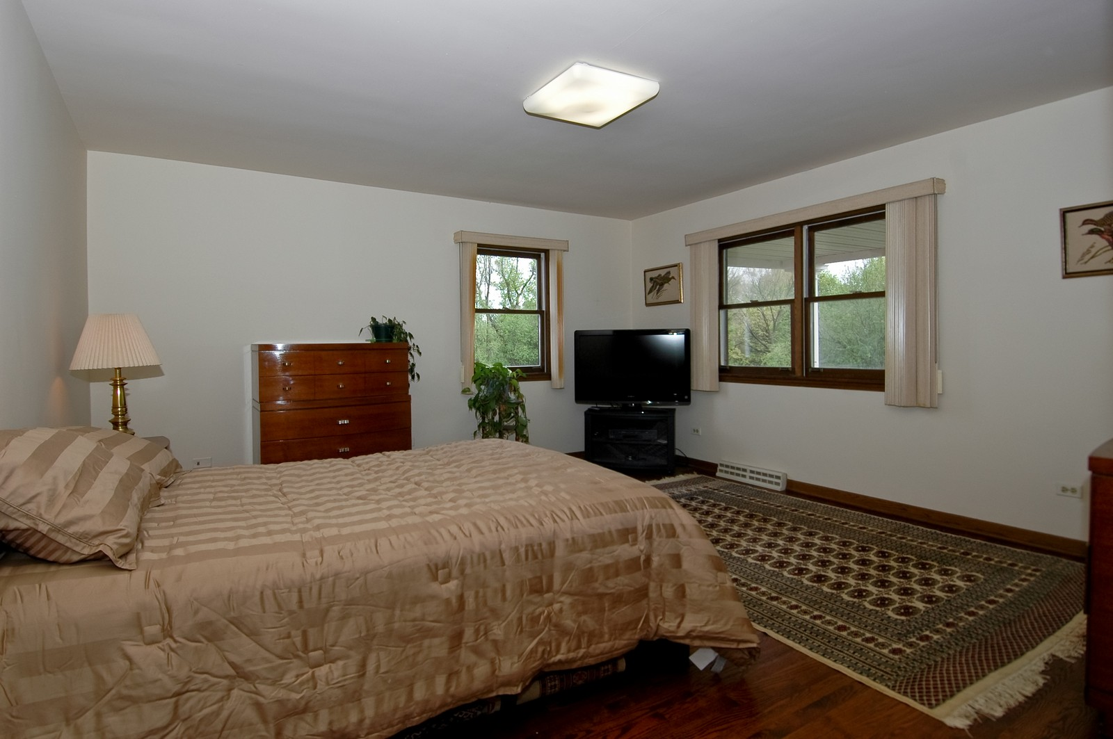 Real Estate Photography - 240 Steeplechase, Barrington Hills, IL, 60010 - 2nd Bedroom