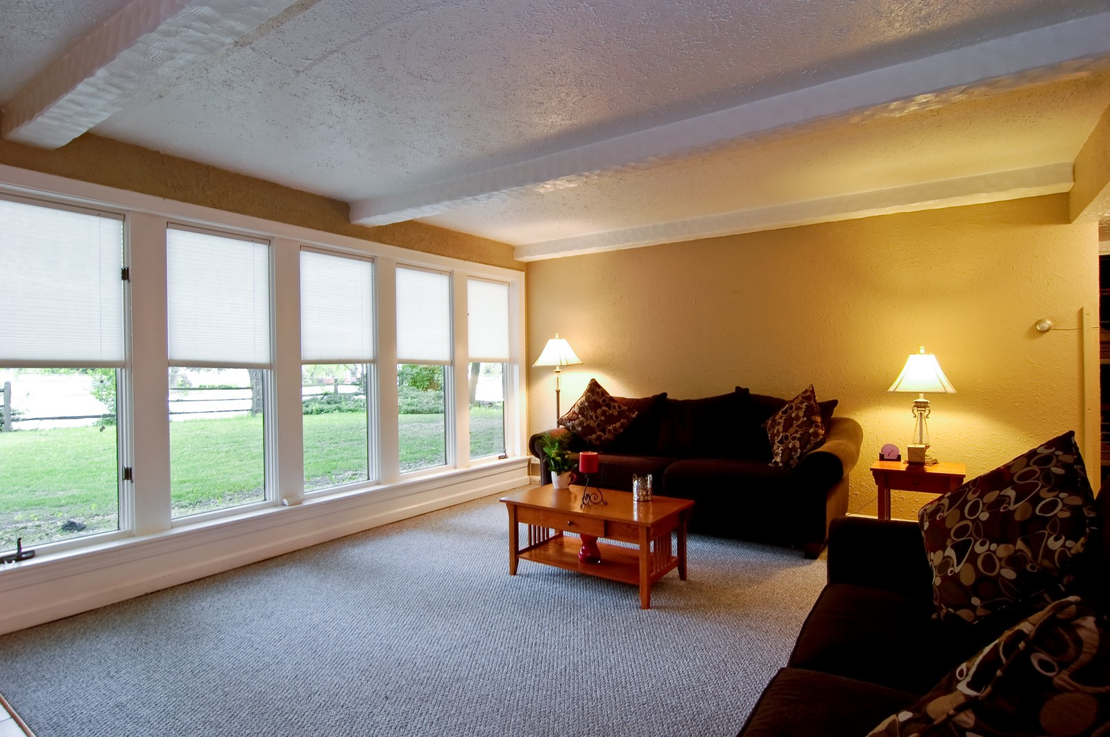 Real Estate Photography - 1040 S Columbine St, Lombard, IL, 60148 - Living Room