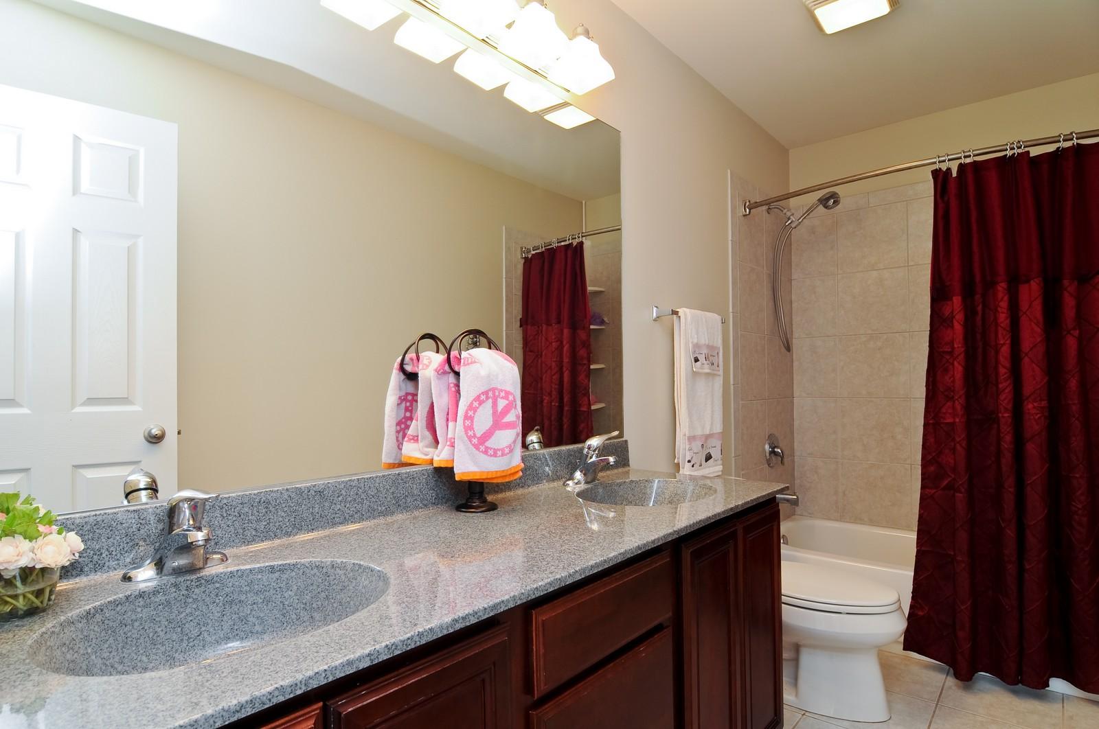 Real Estate Photography - 324 Fossland, Winthrop Harbor, IL, 60096 - Bathroom