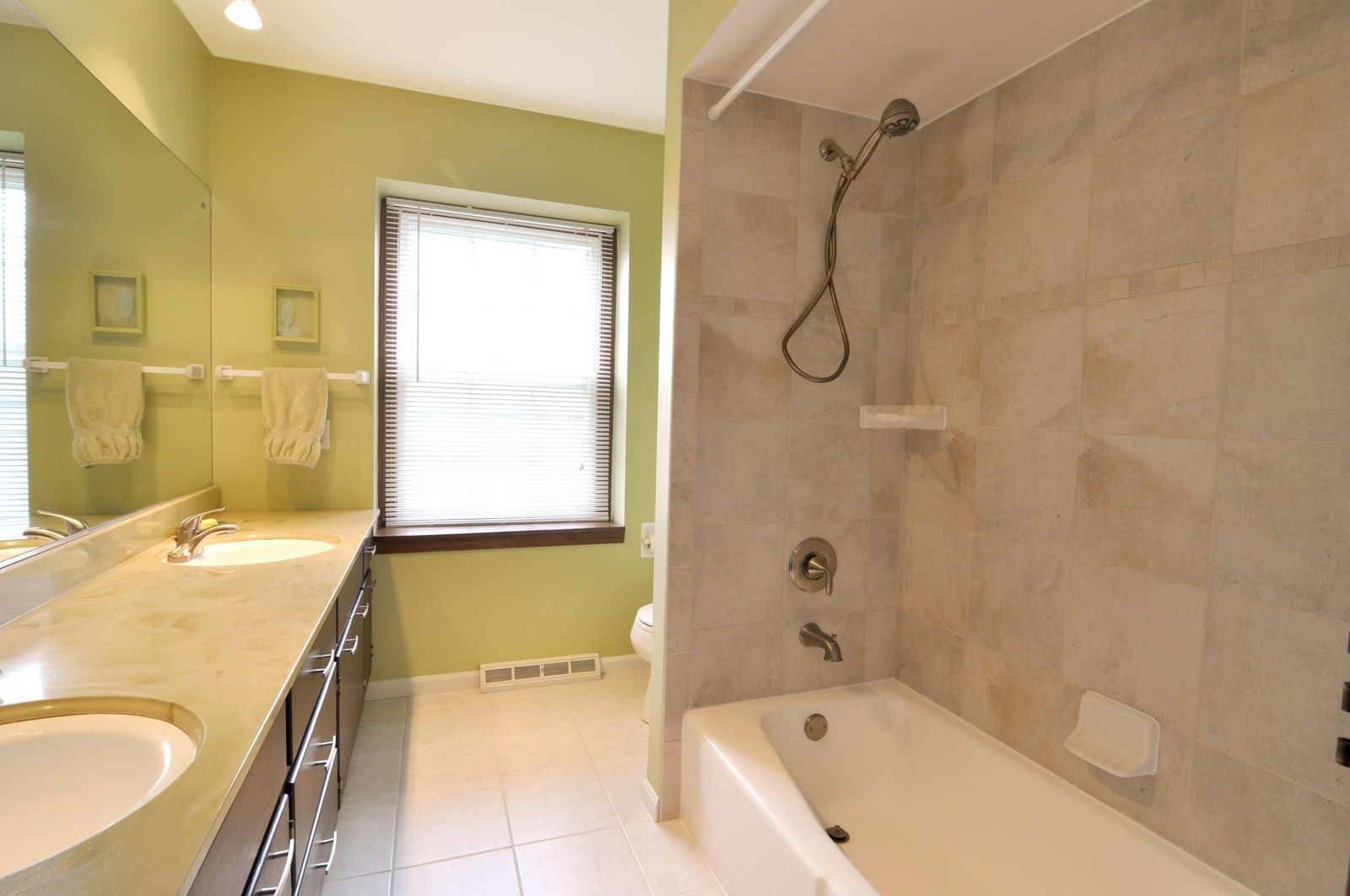 Real Estate Photography - 1523 Allen, St Charles, IL, 60174 - Master Bathroom