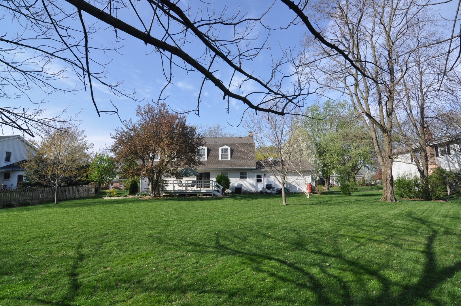 Real Estate Photography - 1523 Allen, St Charles, IL, 60174 - Rear View