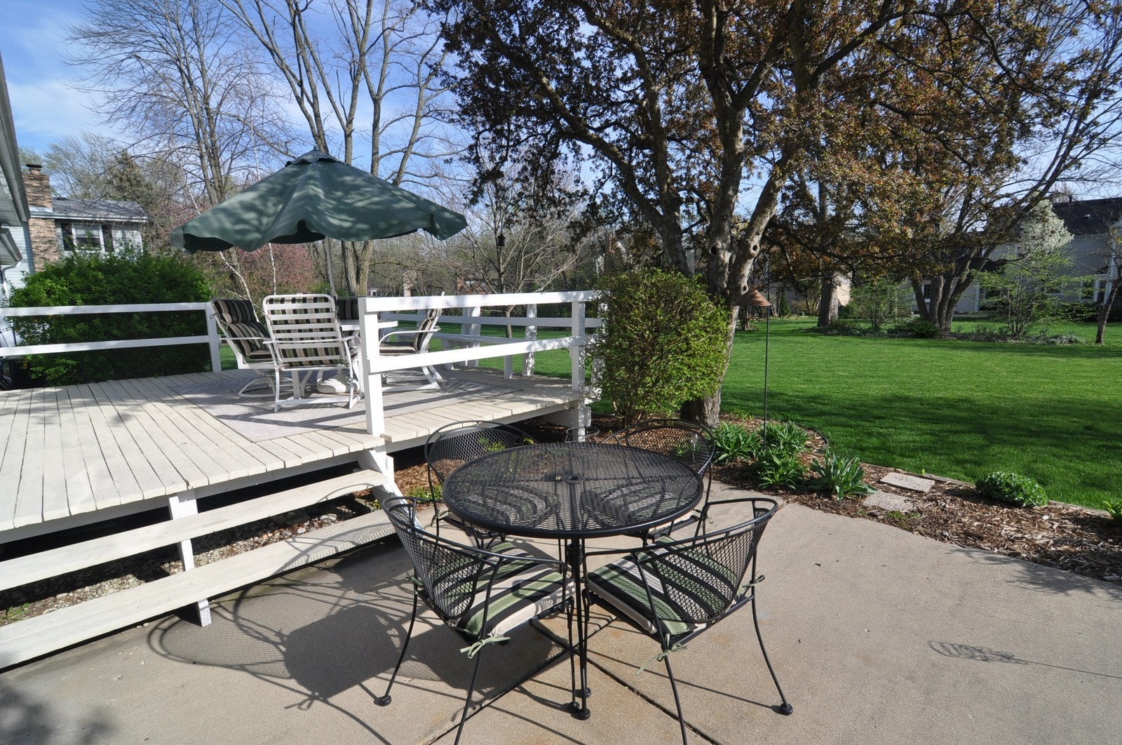 Real Estate Photography - 1523 Allen, St Charles, IL, 60174 - Deck