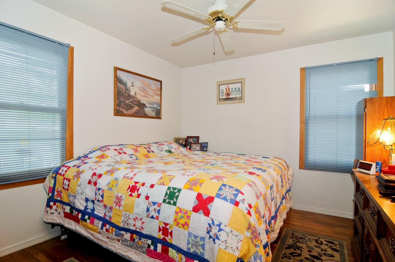 Real Estate Photography - 2125 222nd, Sauk Village, IL, 60411 - Bedroom