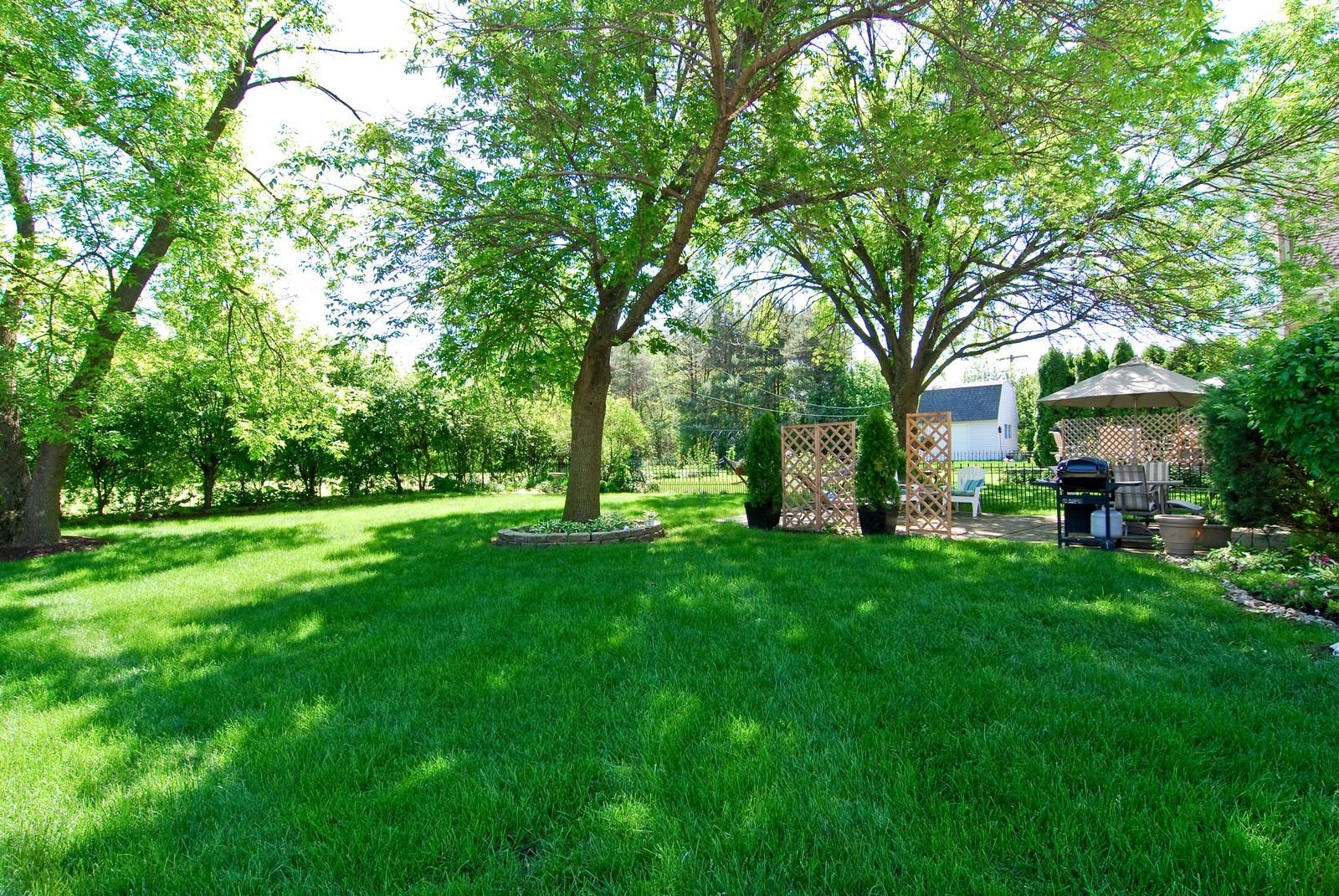 Real Estate Photography - 75 Newton, Glen Ellyn, IL, 60137 - Back Yard