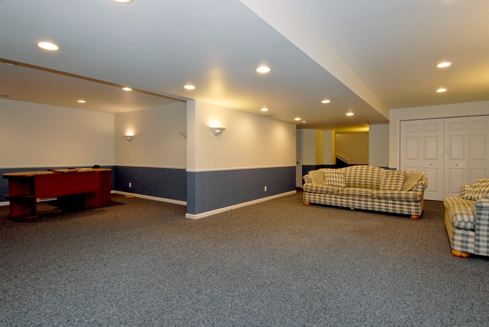 Real Estate Photography - 917 Jeffrey, St Charles, IL, 60174 - Basement